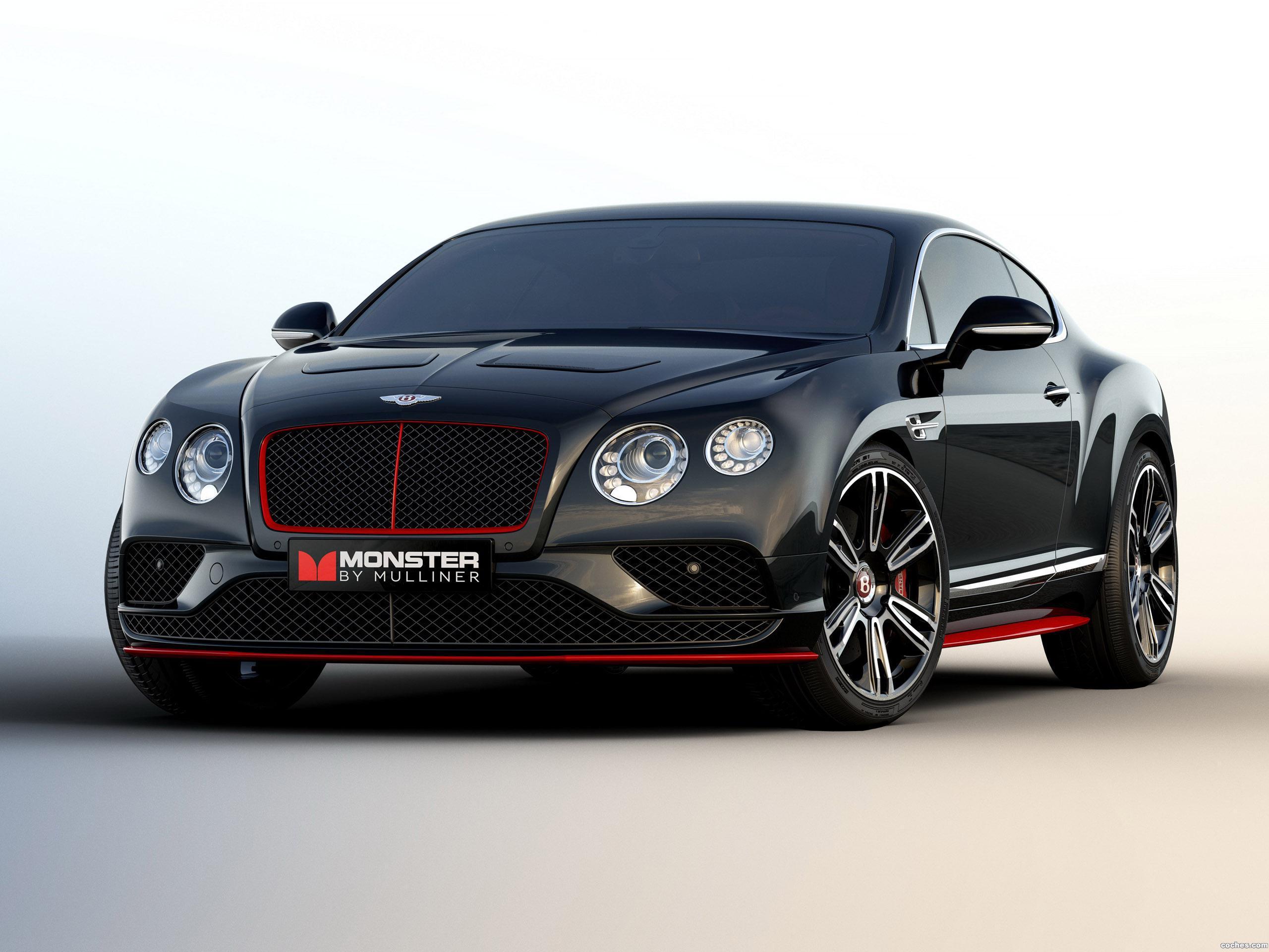 Foto 0 de Bentley Continental GT V8 S Monster by Mulliner 2015