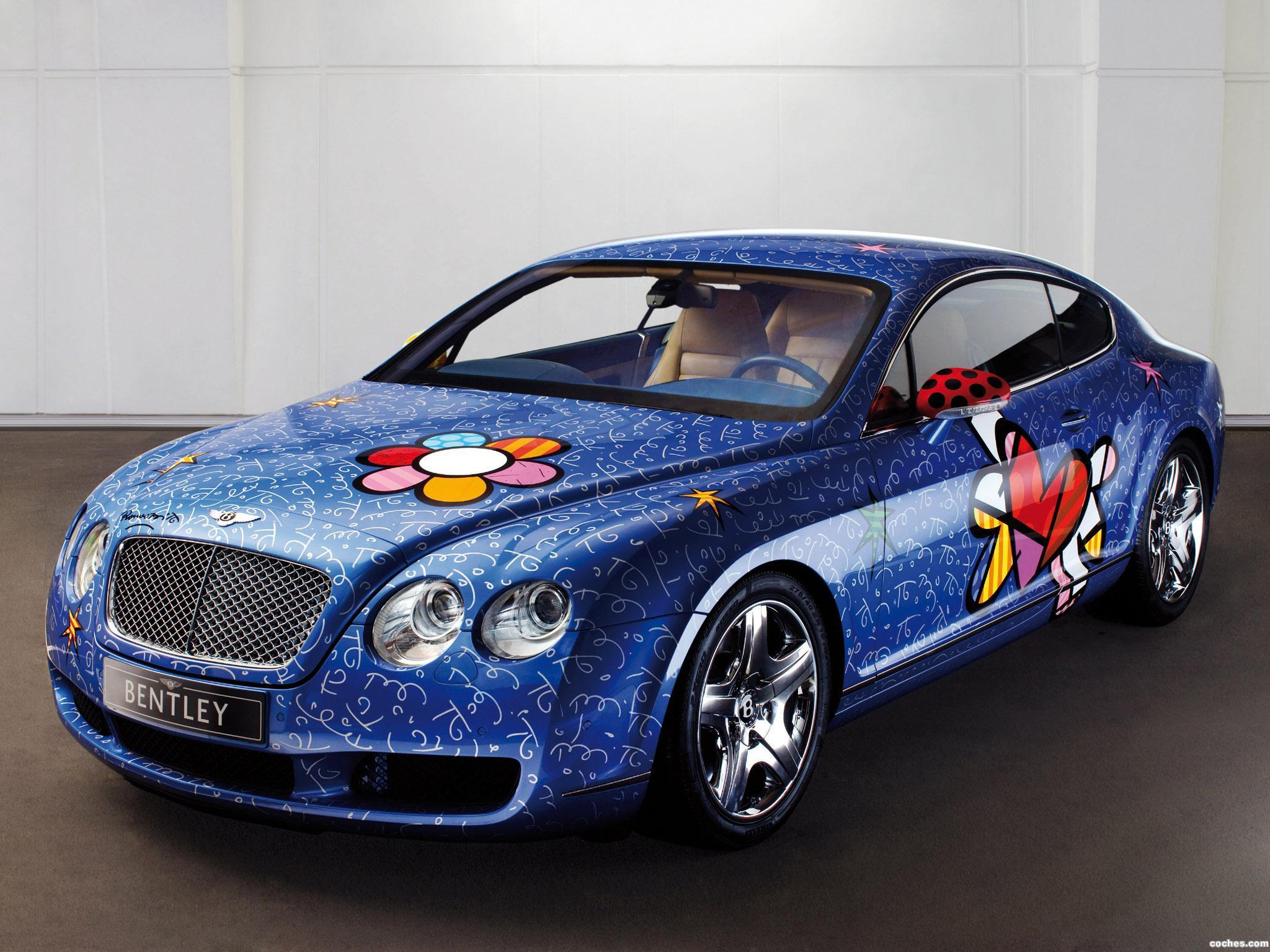 Foto 0 de Bentley Continental-GT by Romero Britto 2009