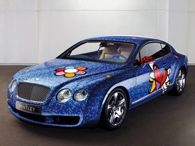 Fotos de Bentley Continental-GT by Romero Britto 2009