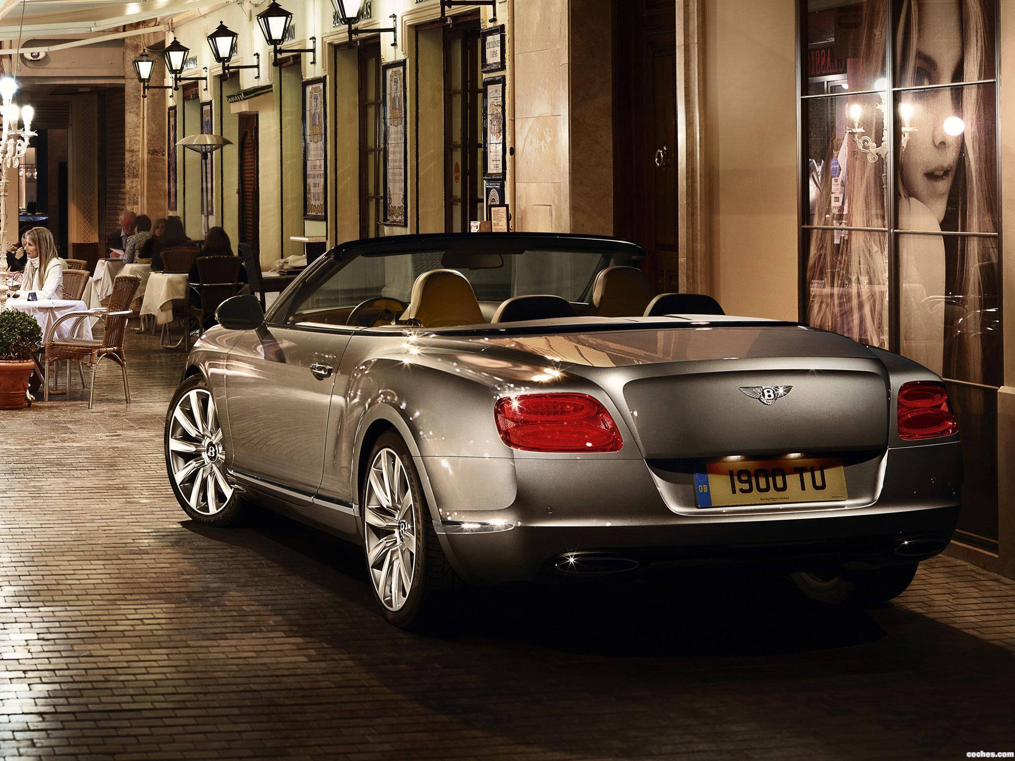 Foto 12 de Bentley Continental GTC 2011