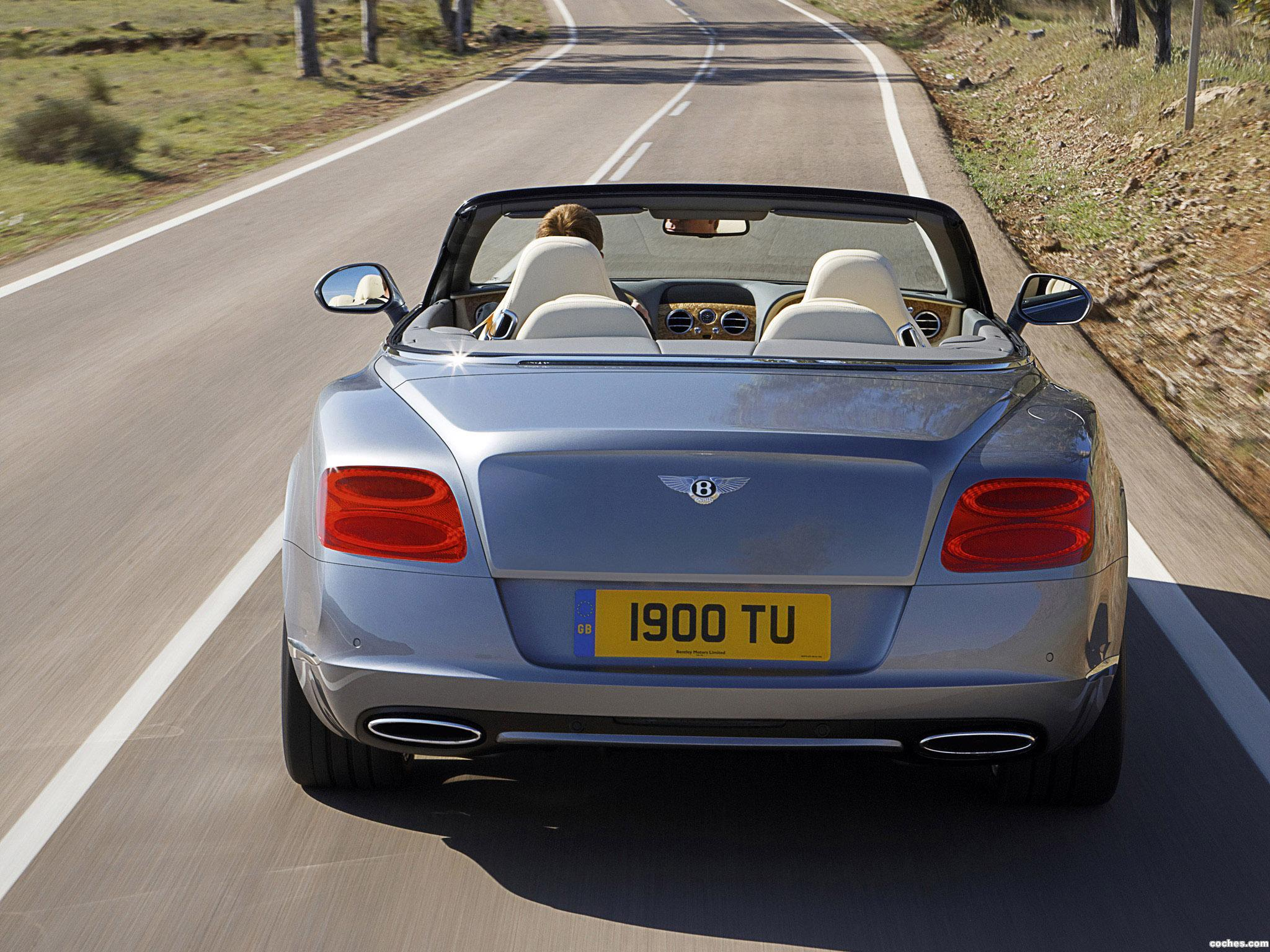 Foto 11 de Bentley Continental GTC 2011