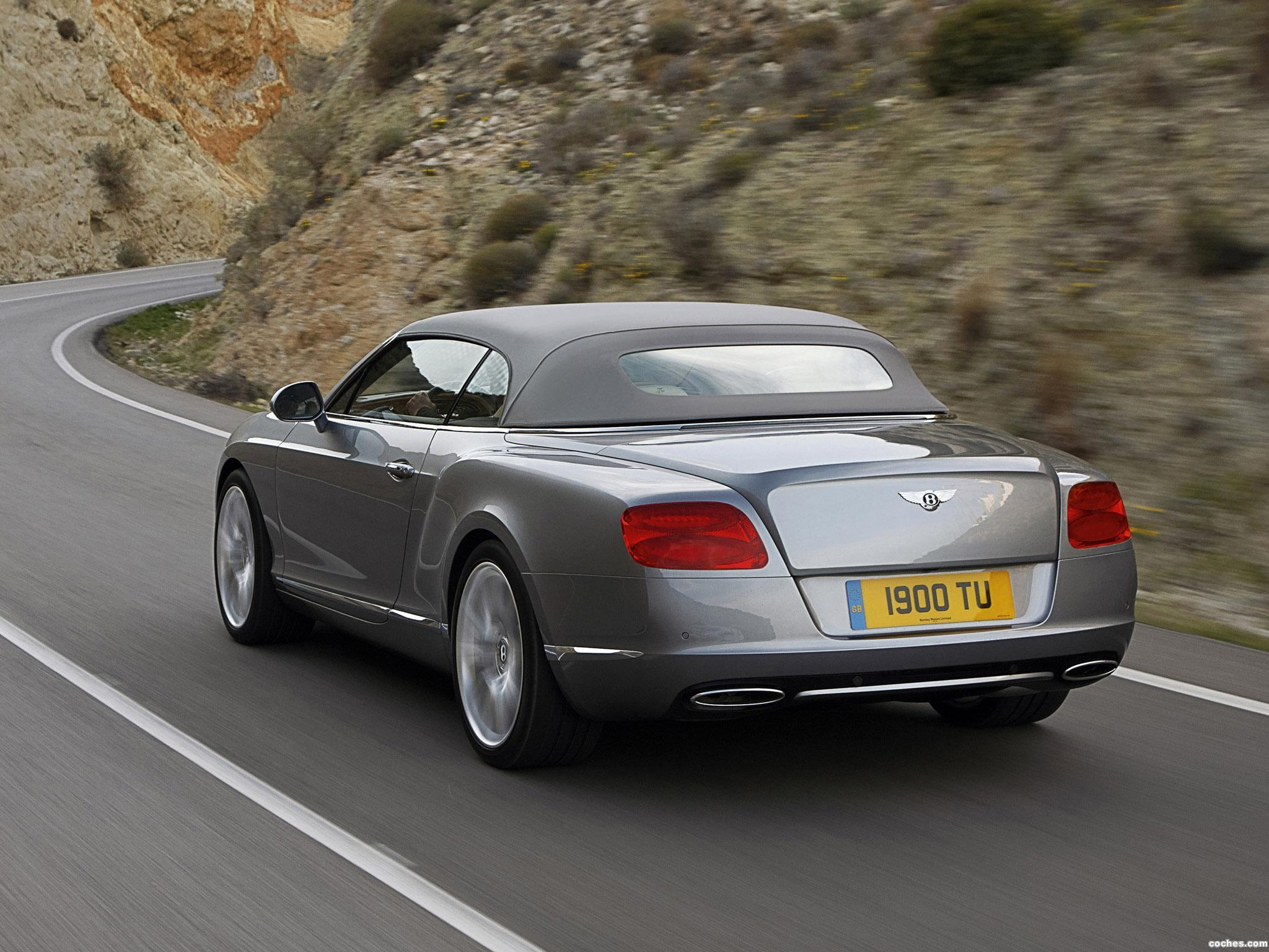 Foto 10 de Bentley Continental GTC 2011