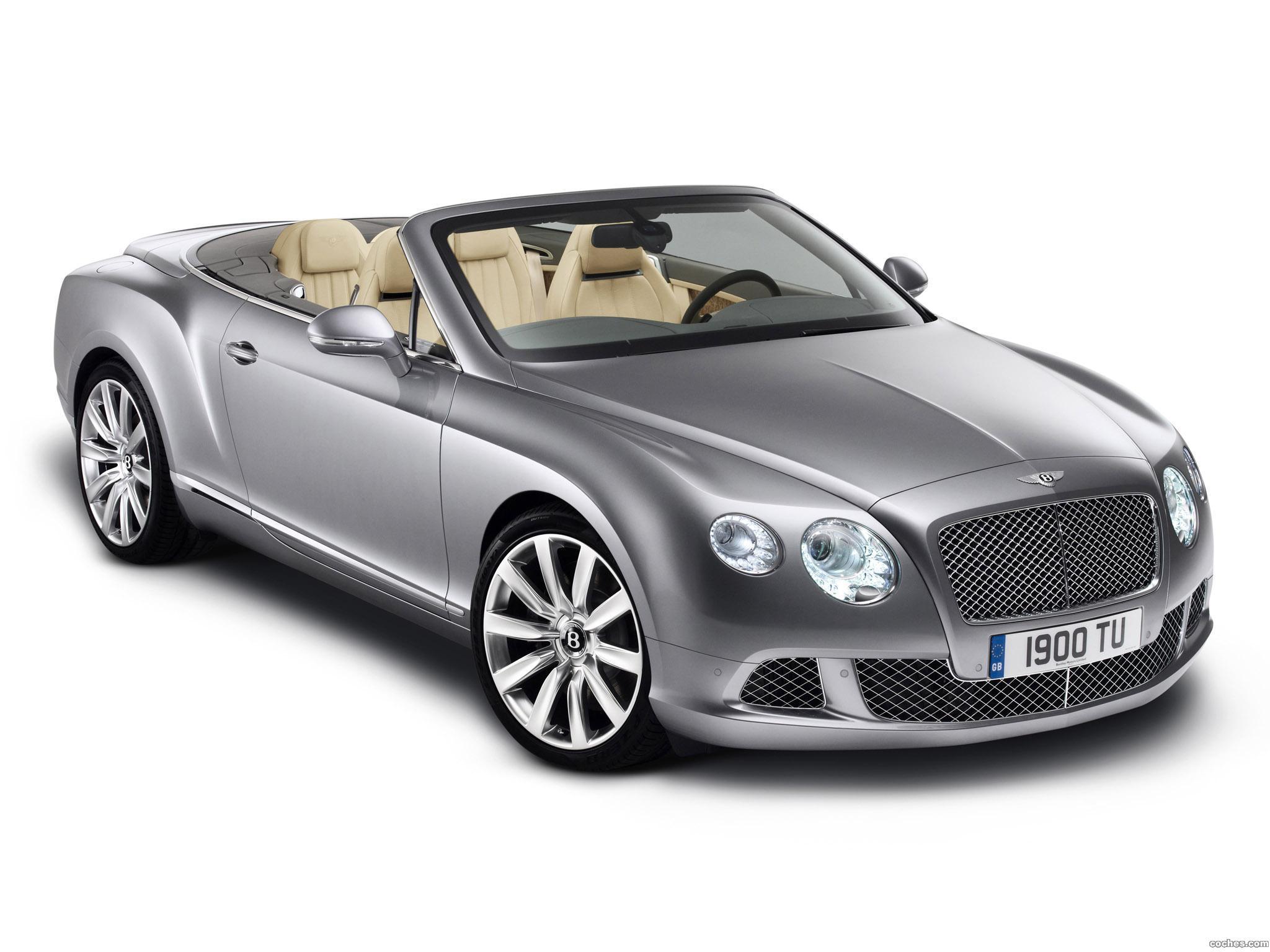 Foto 1 de Bentley Continental GTC 2011