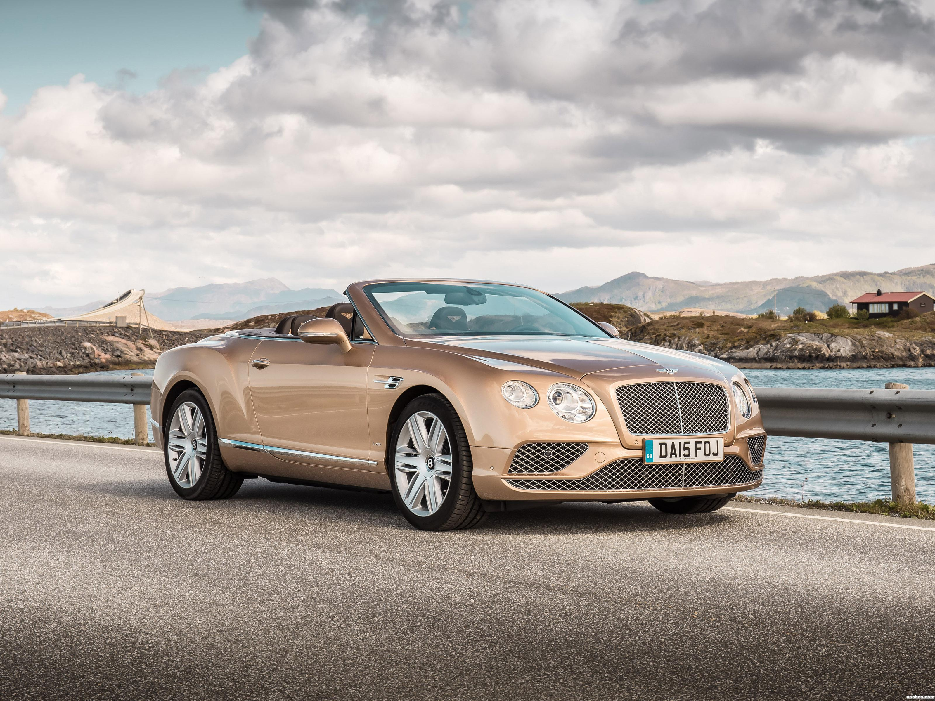 Foto 7 de Bentley Continental GTC 2015