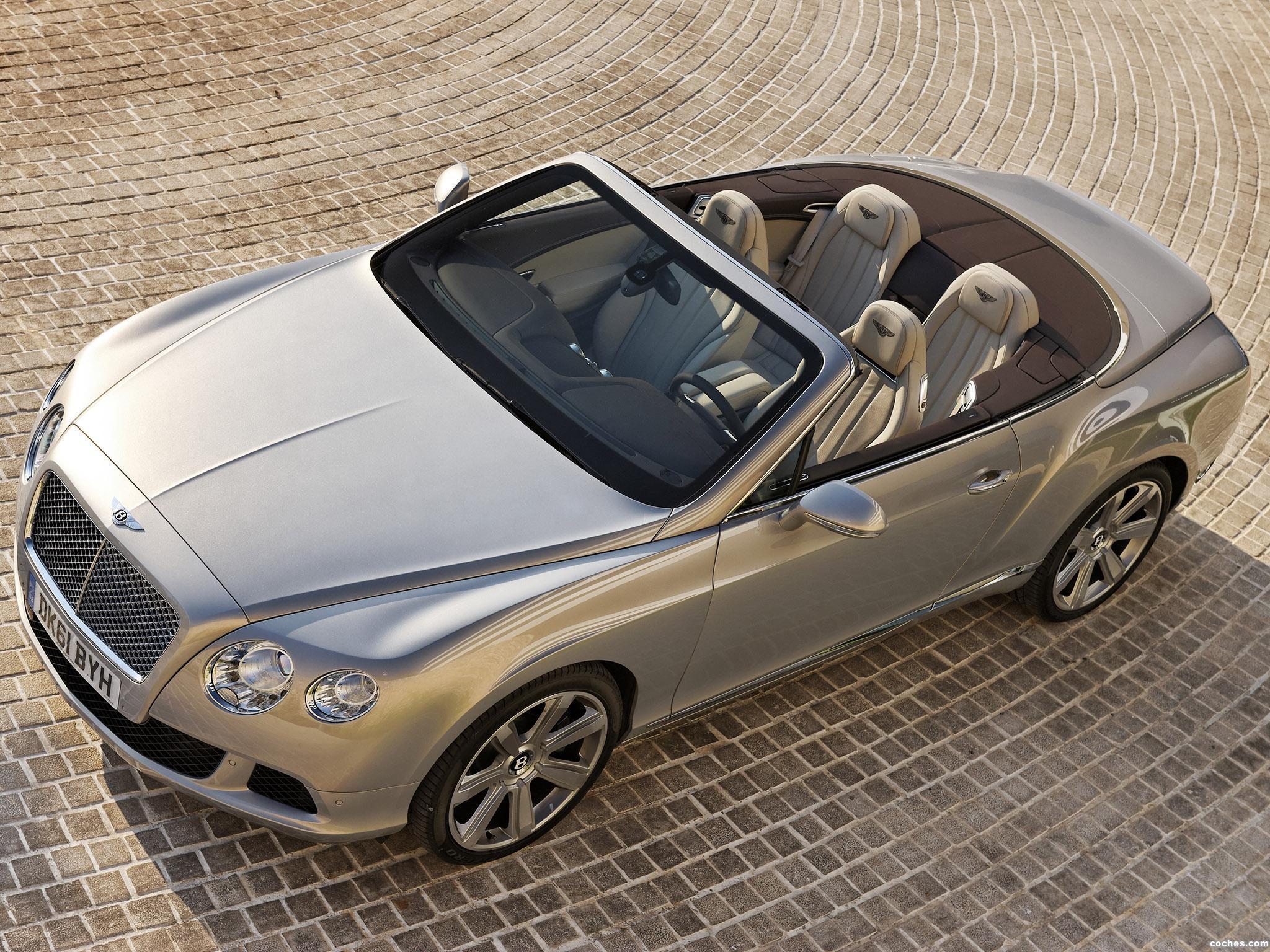 Foto 0 de Bentley Continental GTC Extreme Silver 2011