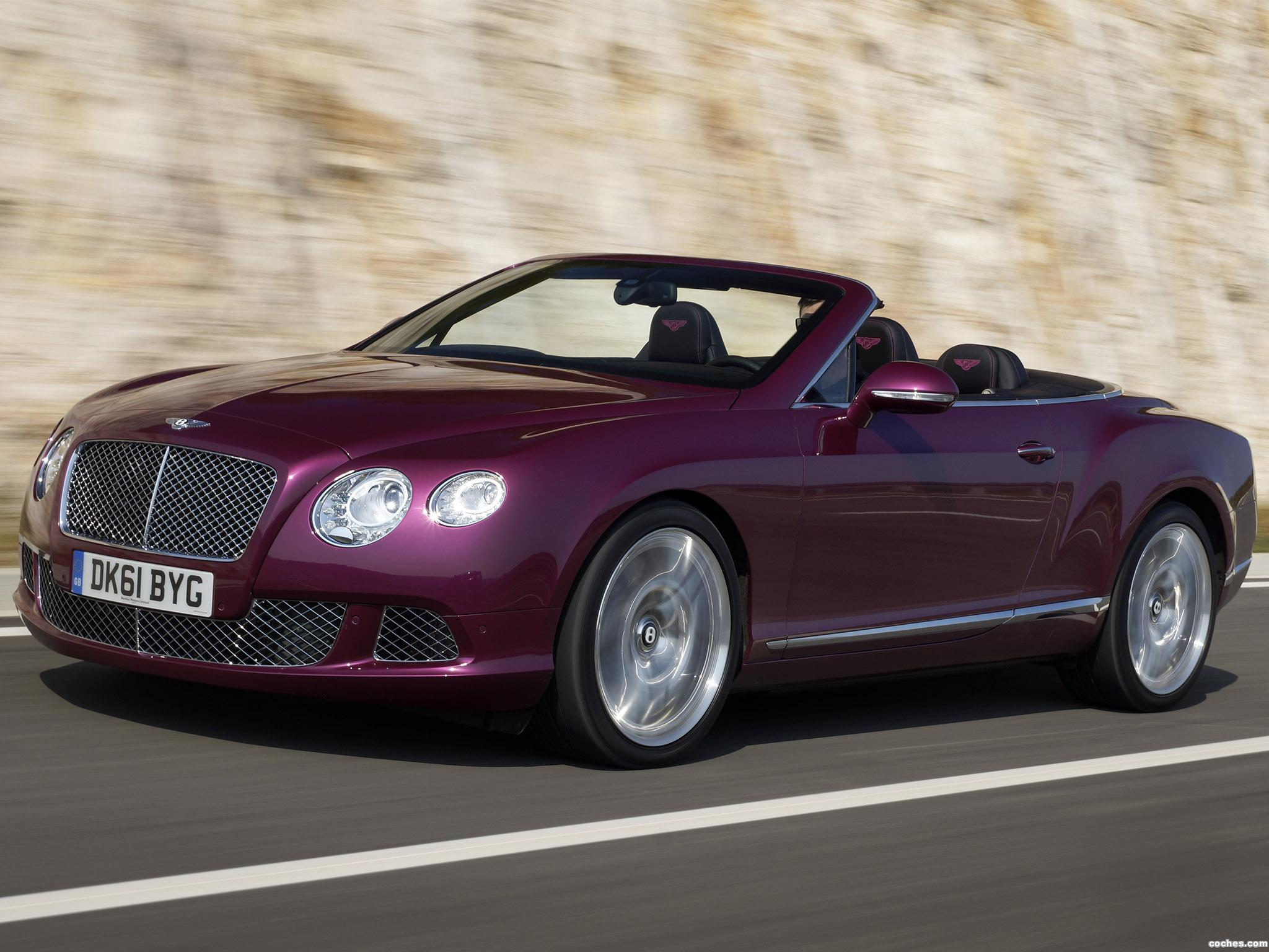 Foto 0 de Bentley Continental GTC Magenta 2011