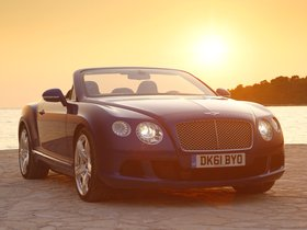 Fotos de Bentley Continental GTC Moroccan Blue 2011