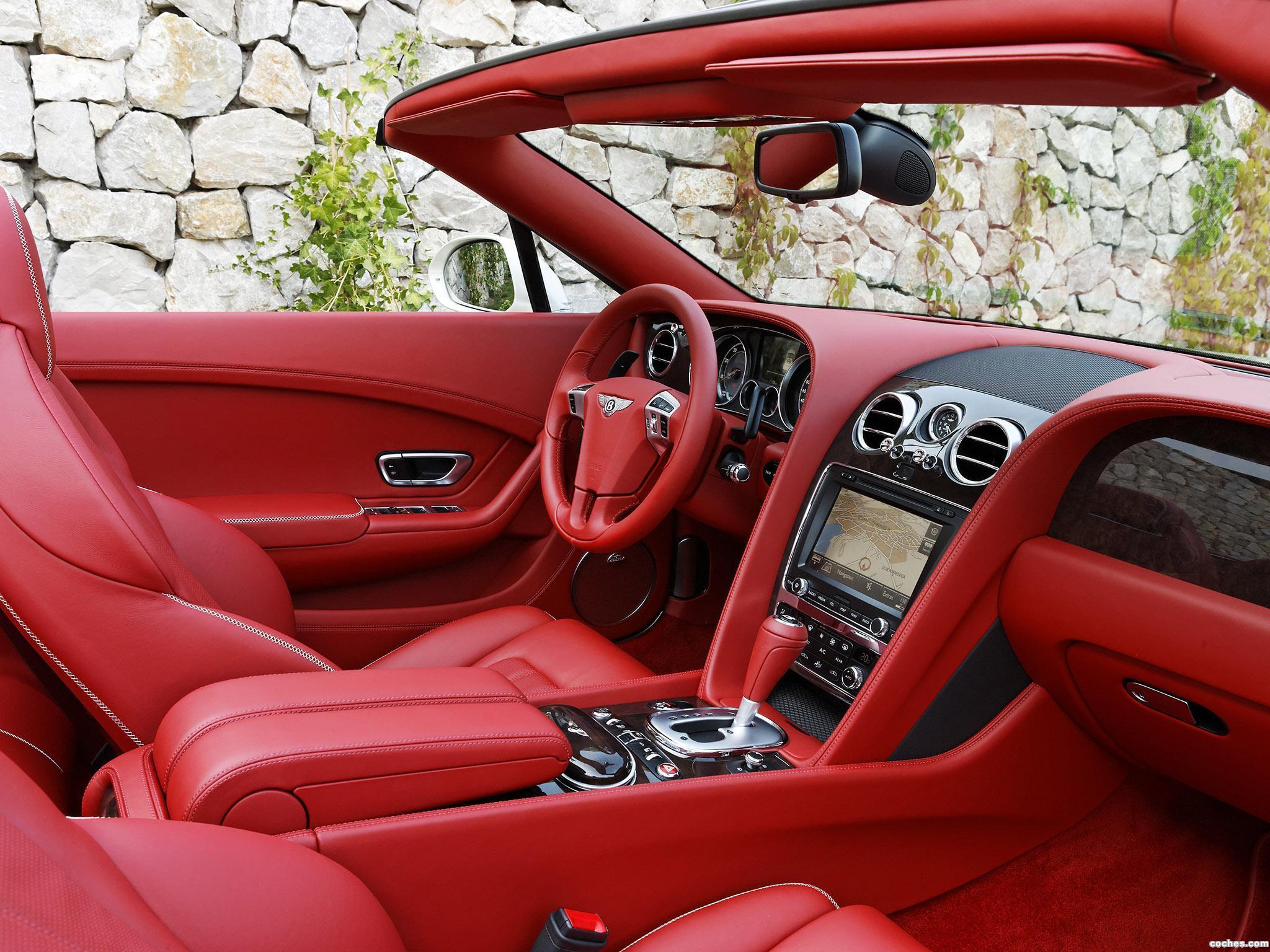 Foto 7 de Bentley Continental GTC Silk White 2011