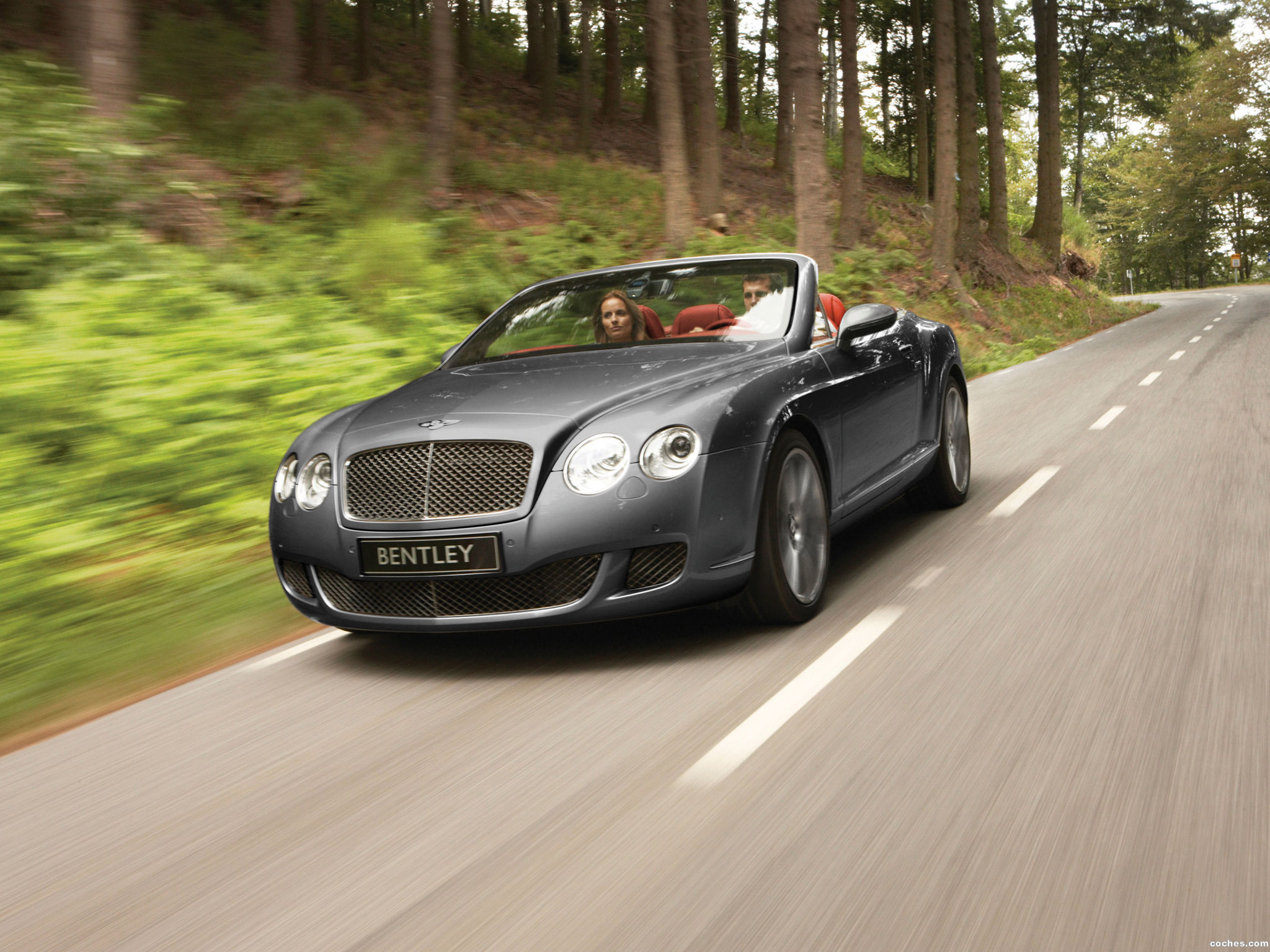 Foto 0 de Bentley Continental-GTC Speed 2009