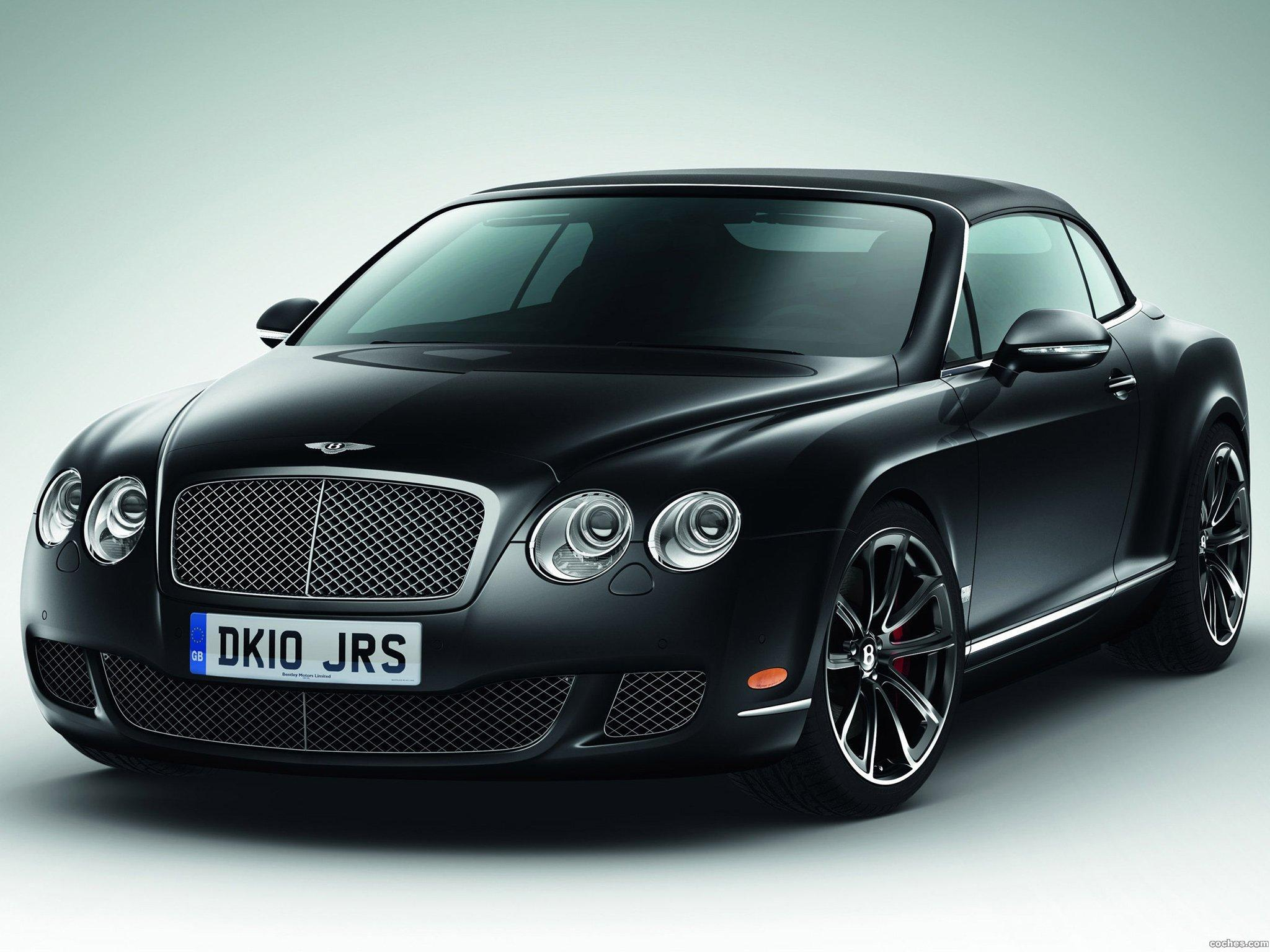 Foto 0 de Bentley Continental GTC Speed 2010