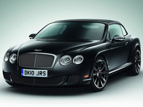 Fotos de Bentley Continental GTC Speed 2010