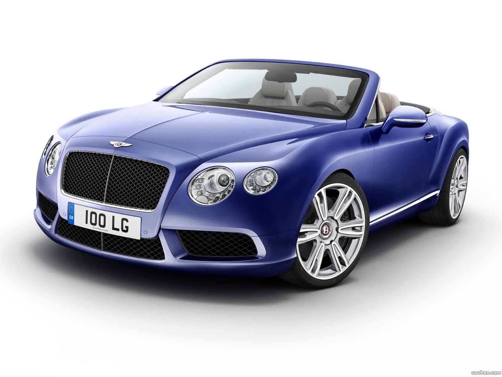 Foto 0 de Bentley Continental GTC V8 2012