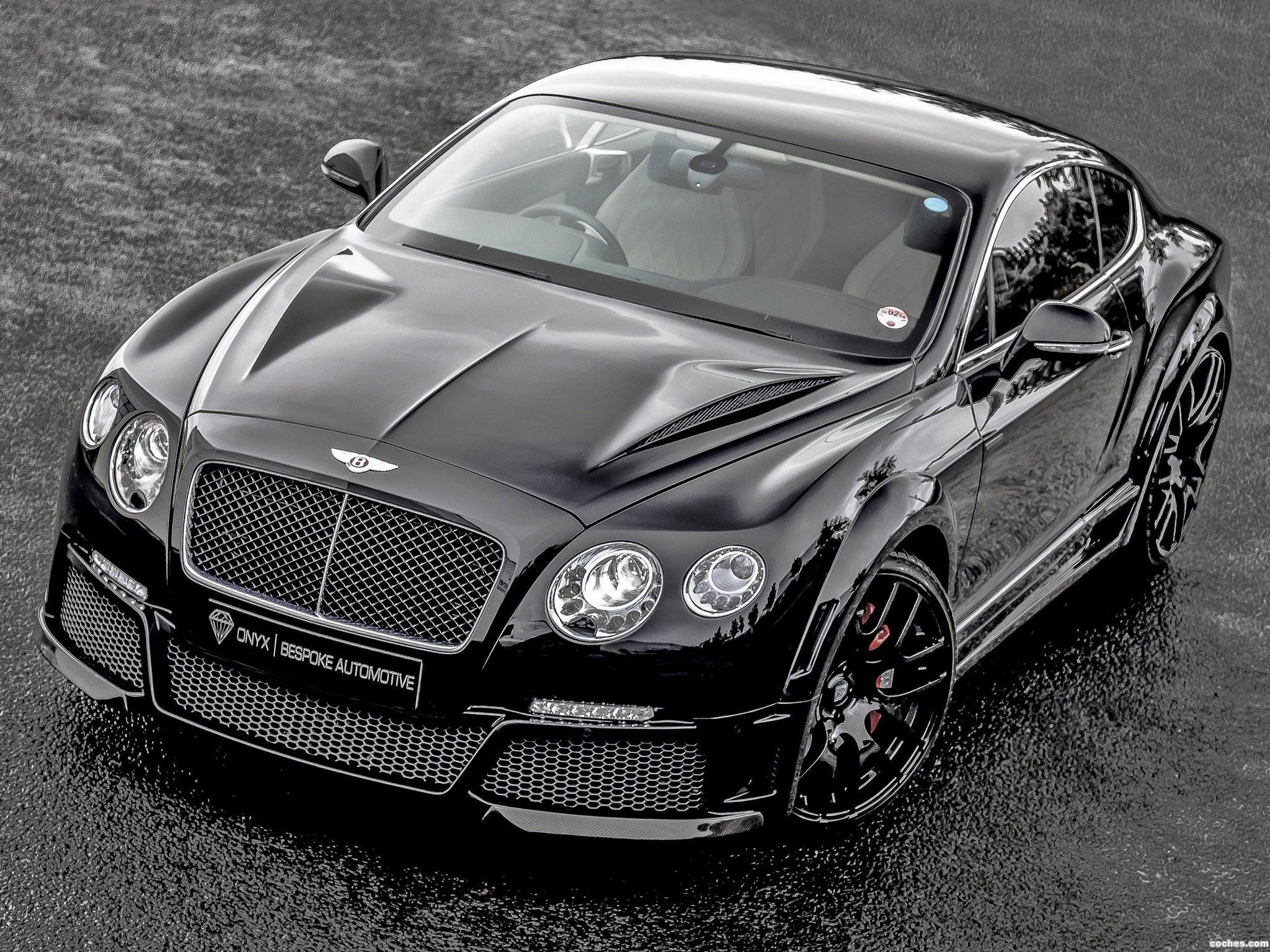 Foto 0 de Bentley Continental GTVX ONYX Concept 2013