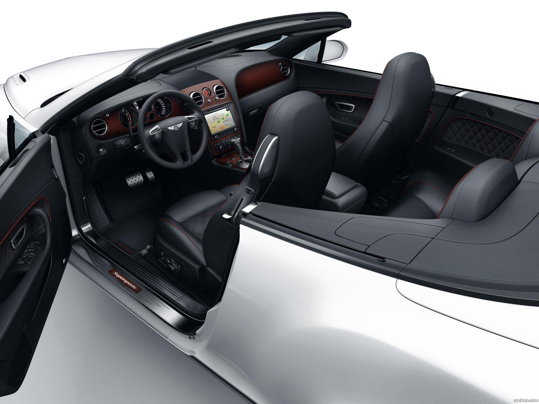 Foto 11 de Bentley Continental-GT Supersports Convertible Ice Record Car 2011
