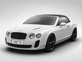 Ver foto 8 de Bentley Continental-GT Supersports Convertible Ice Record Car 2011