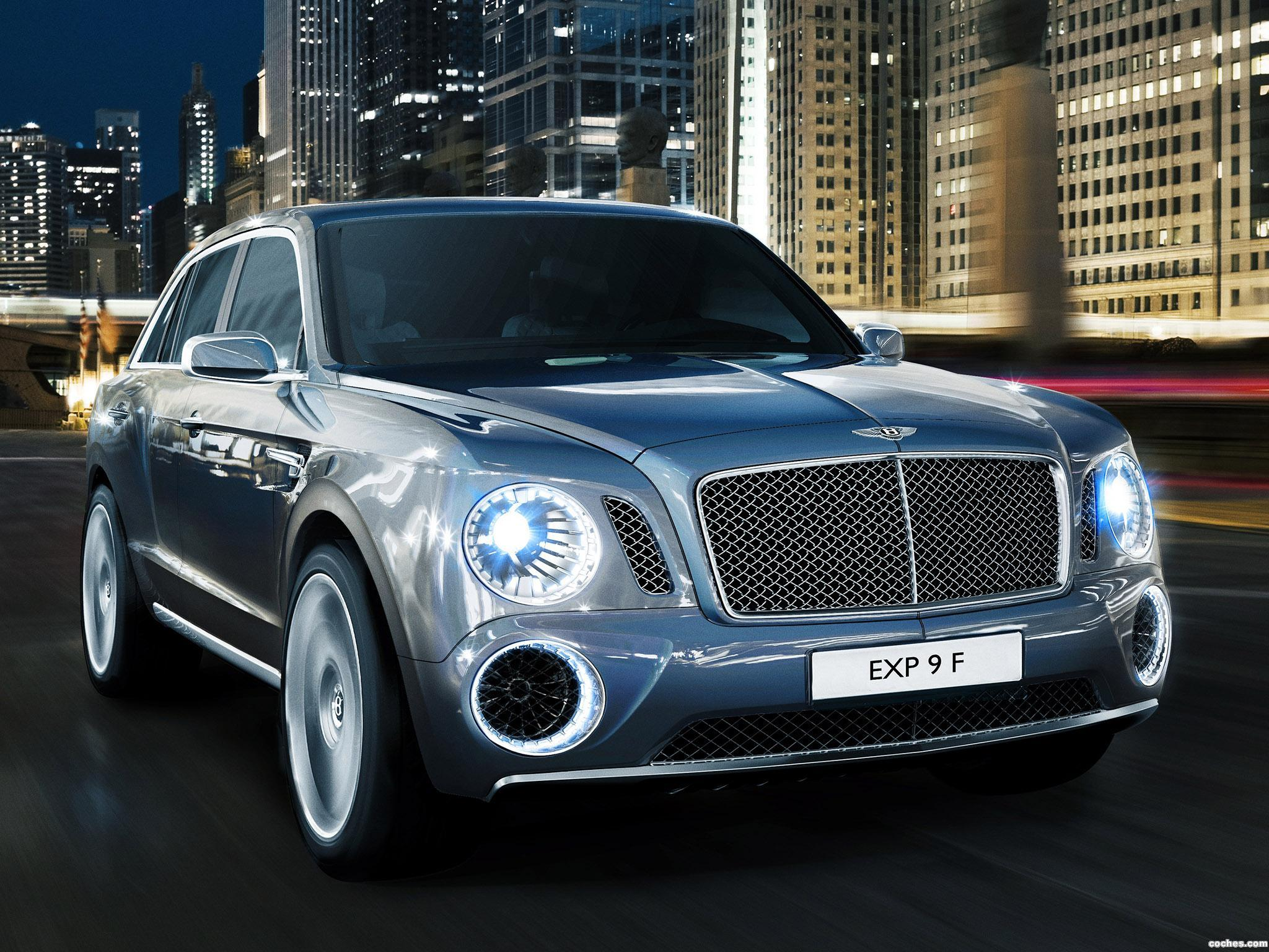 Foto 0 de Bentley EXP 9 F Concept 2012