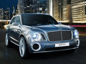 Ver foto 1 de Bentley EXP 9 F Concept 2012