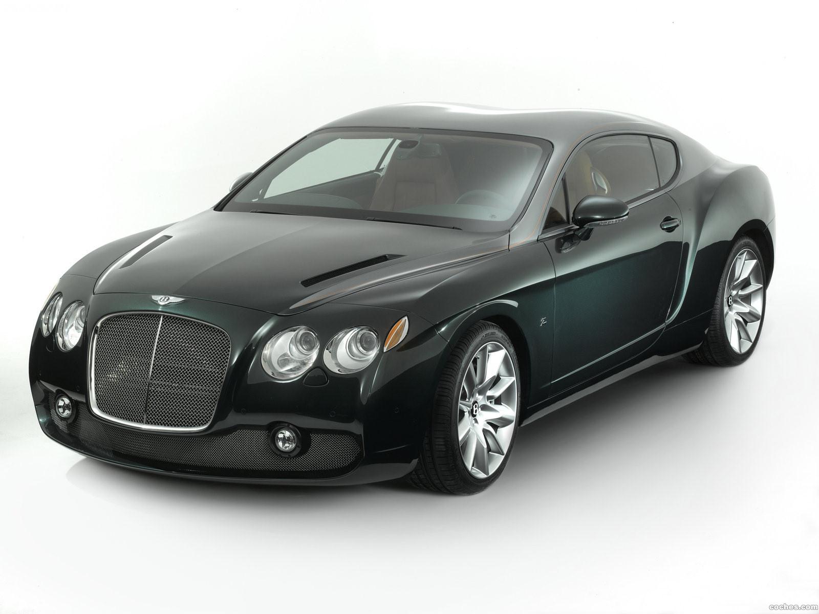 Foto 8 de Bentley GTZ Zagato Concept 2008