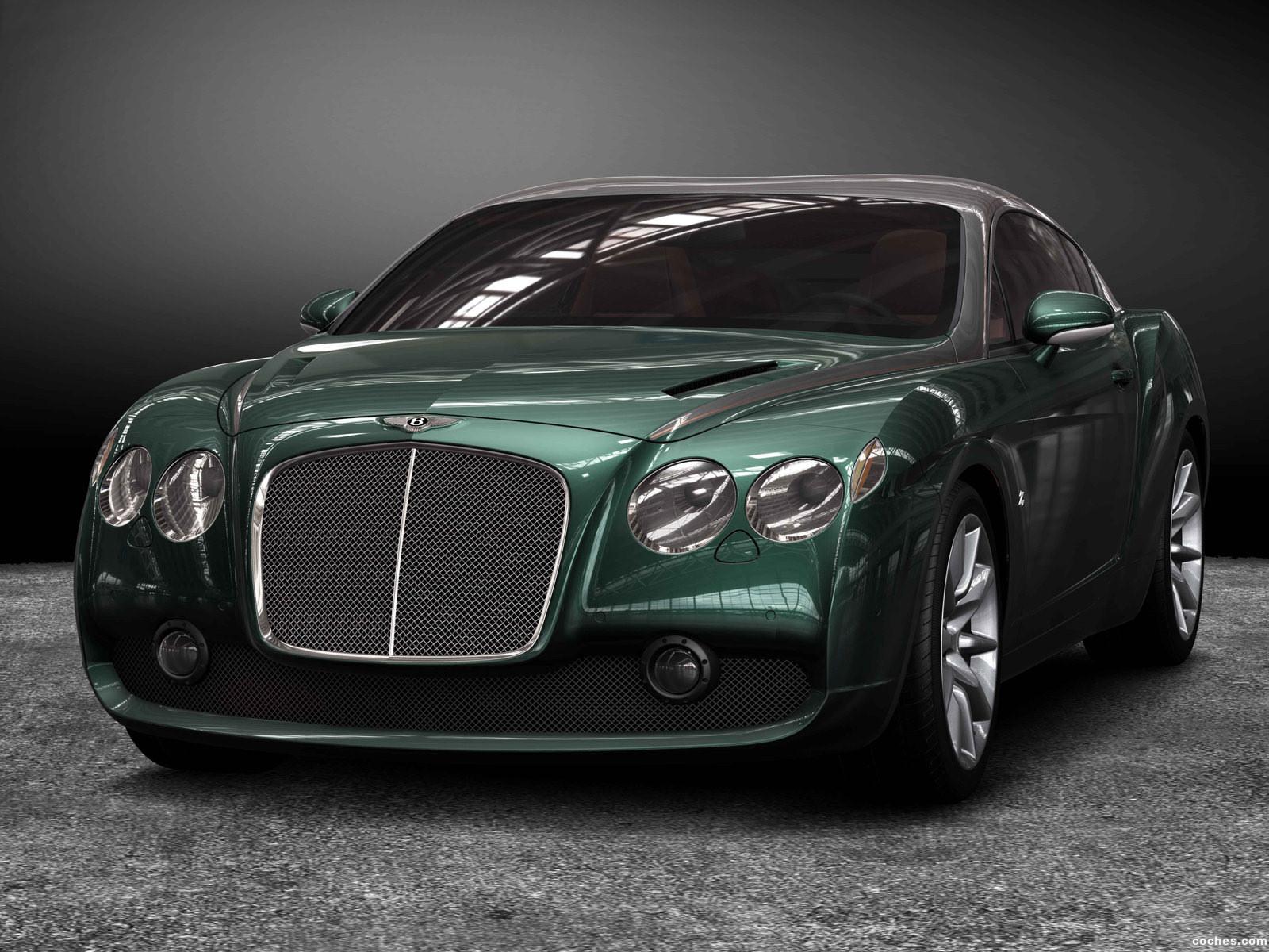 Foto 7 de Bentley GTZ Zagato Concept 2008