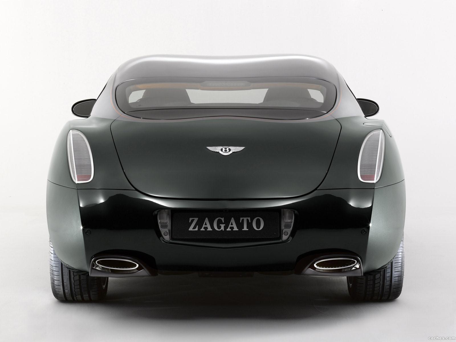 Foto 1 de Bentley GTZ Zagato Concept 2008