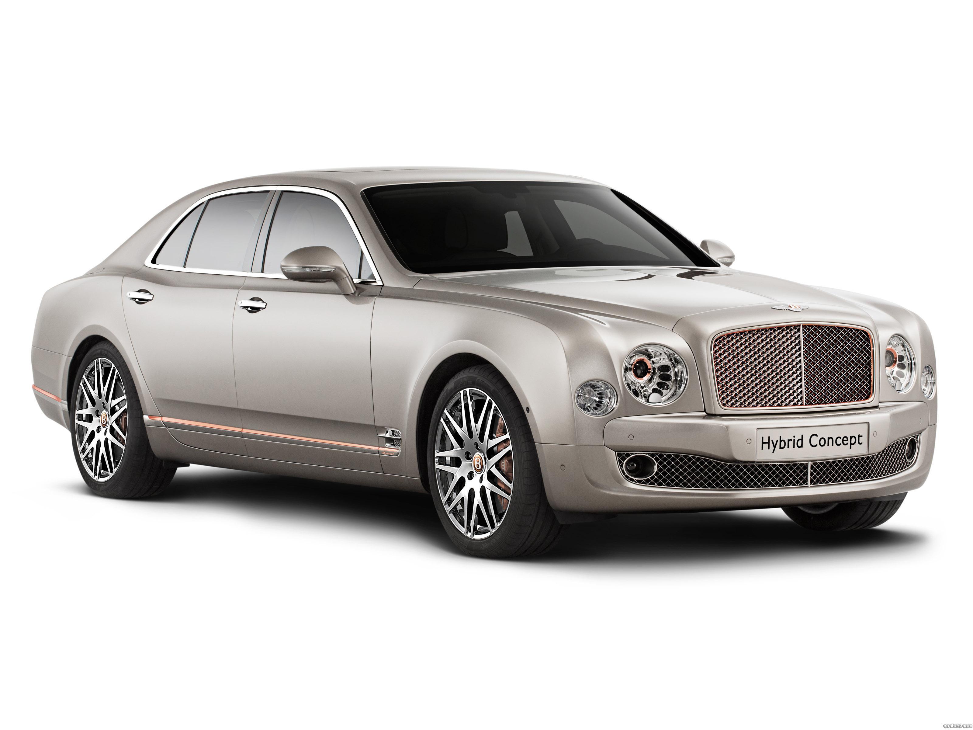 Foto 0 de Bentley Hybrid Concept 2014