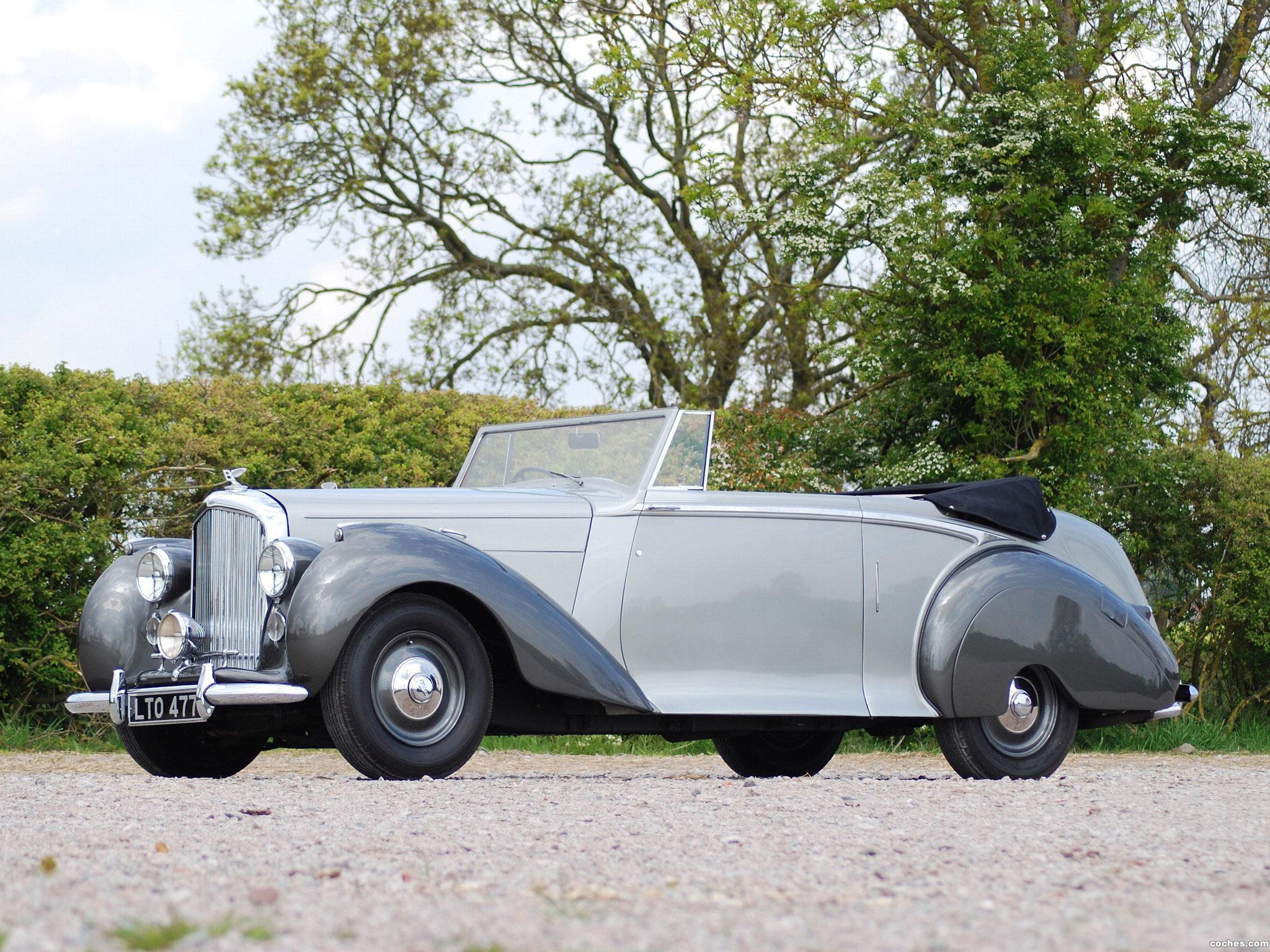 Foto 5 de Bentley Mark VI Drophead Coupe by Park Ward 1949