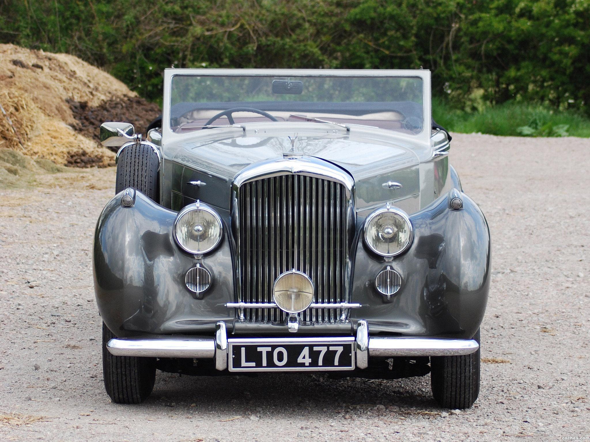 Foto 3 de Bentley Mark VI Drophead Coupe by Park Ward 1949