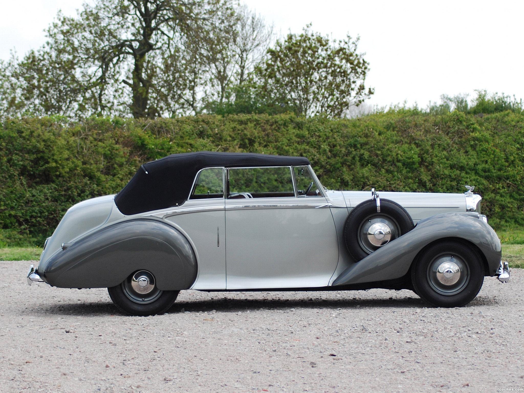 Foto 1 de Bentley Mark VI Drophead Coupe by Park Ward 1949