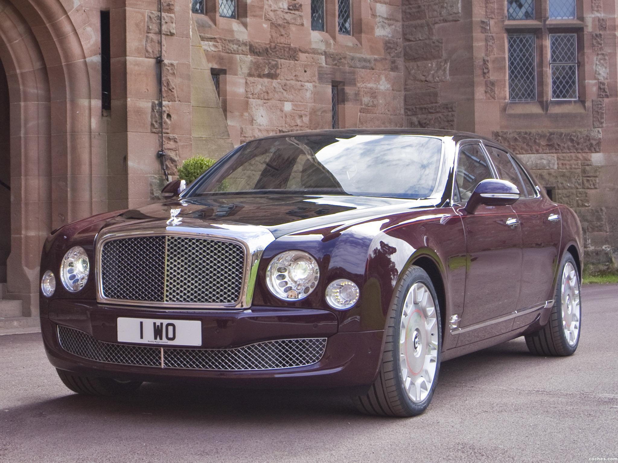 Foto 0 de Bentley Mulsanne Diamond Jubilee 2012