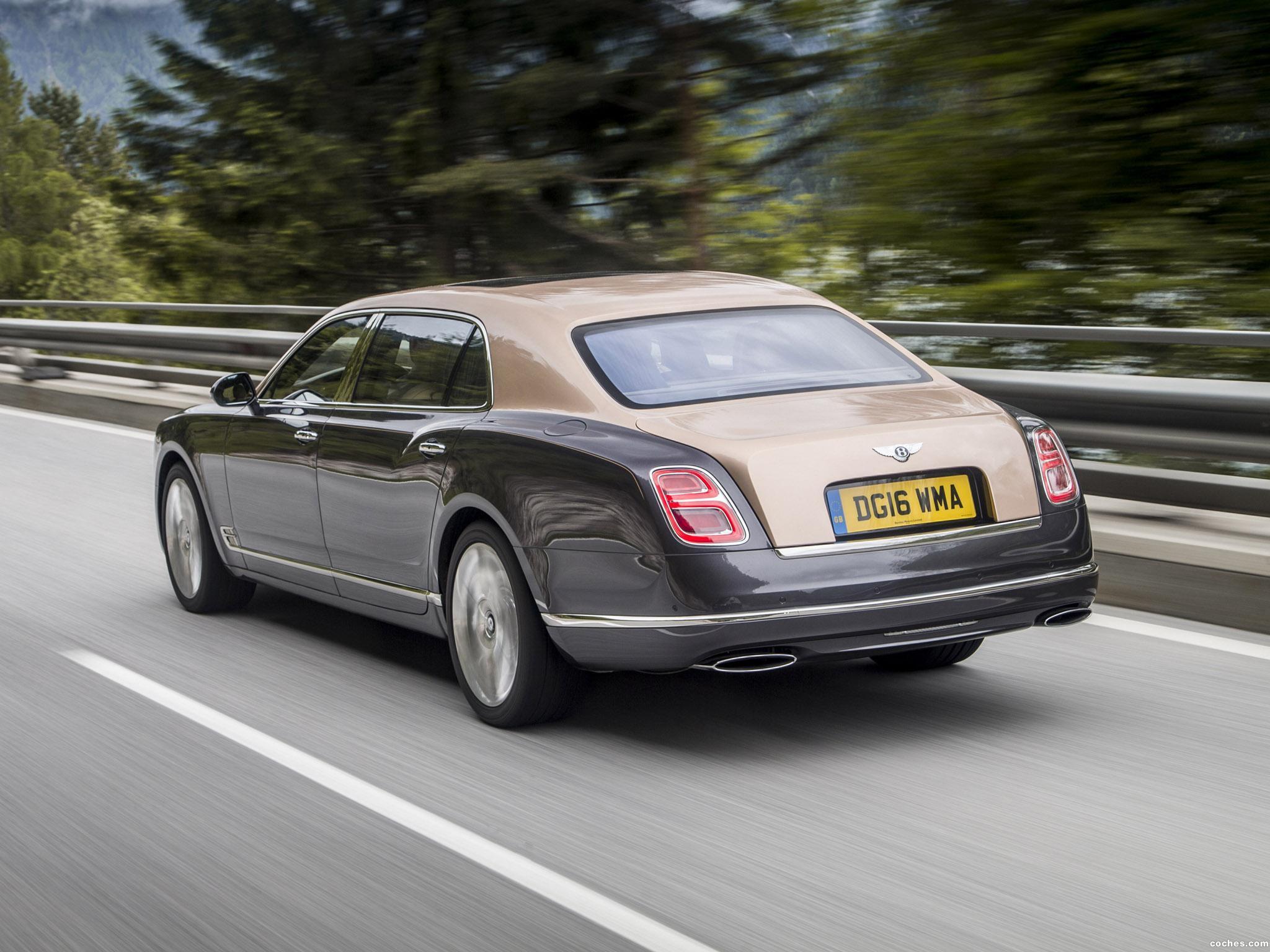 Foto 7 de Bentley Mulsanne Extended Wheelbase 2016