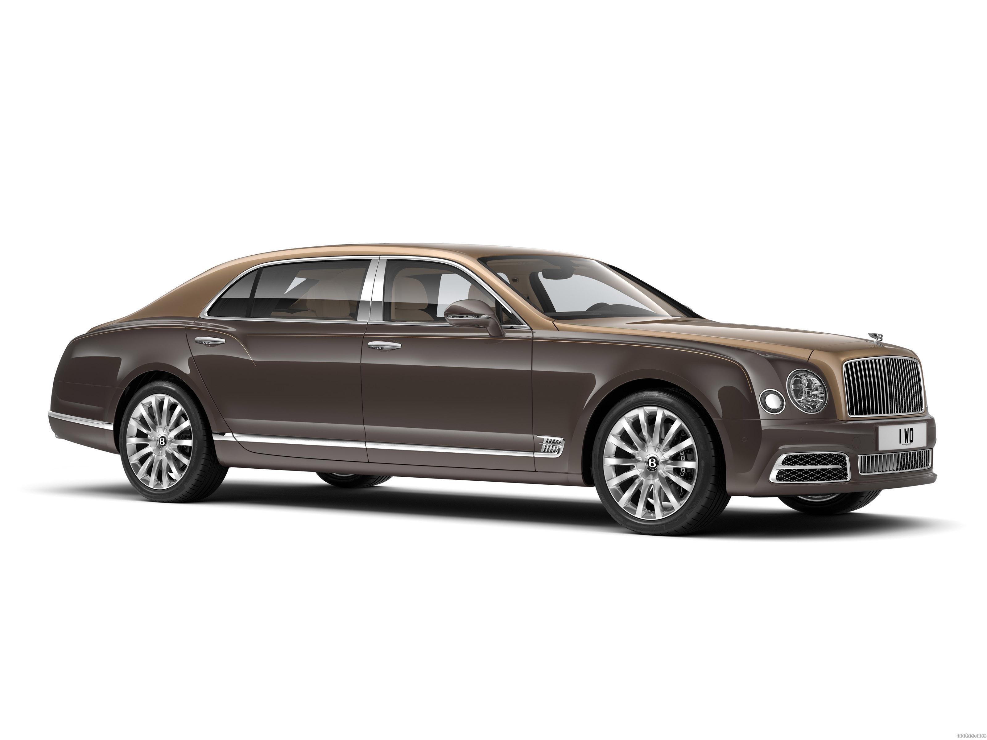 Foto 0 de Bentley Mulsanne Extended Wheelbase First Edition 2016