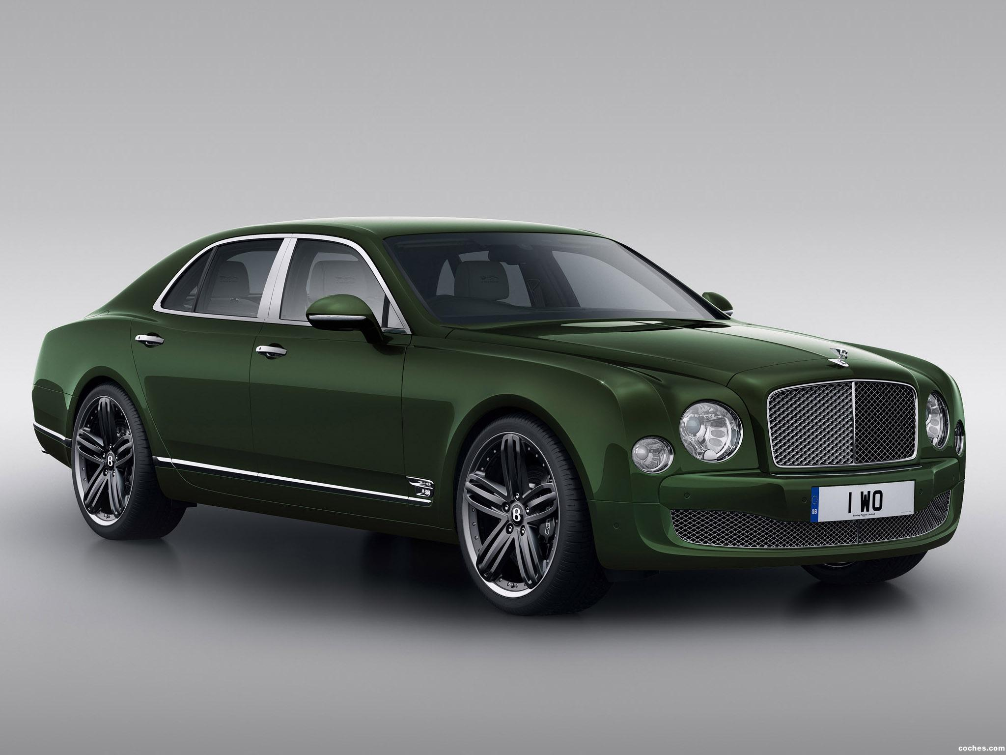 Foto 0 de Bentley Mulsanne Le Mans Edition 2013