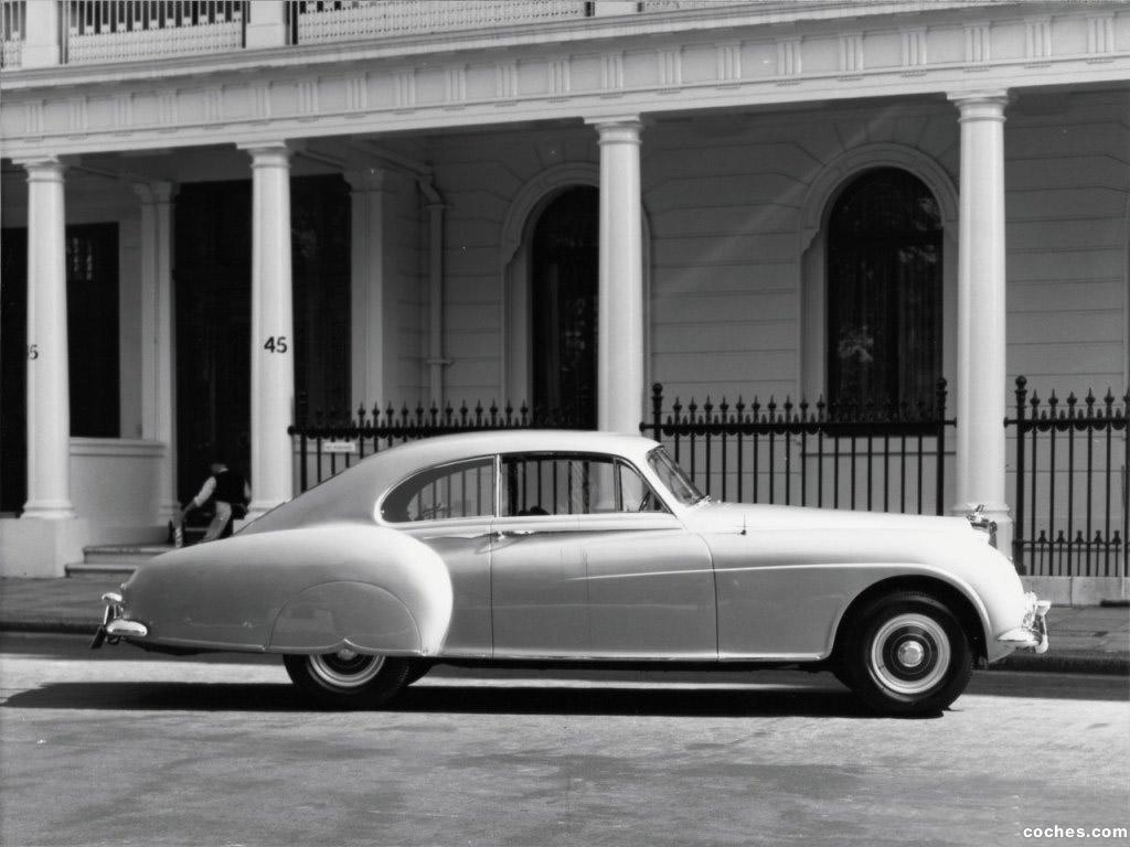 Foto 2 de Bentley R-Type Continental Coupe 1954