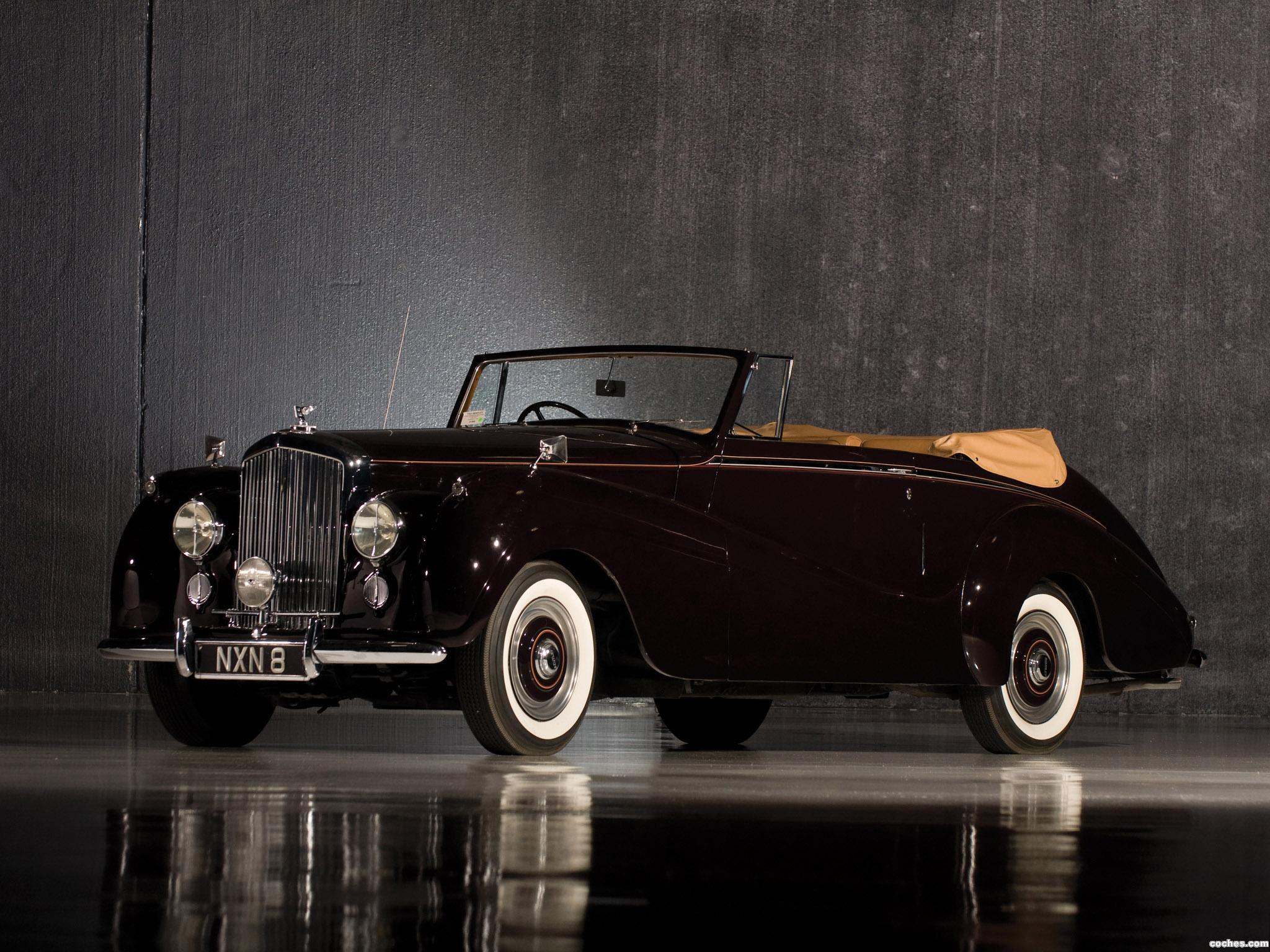 Foto 0 de Bentley R-Type Drophead Coupe Park Ward 1953