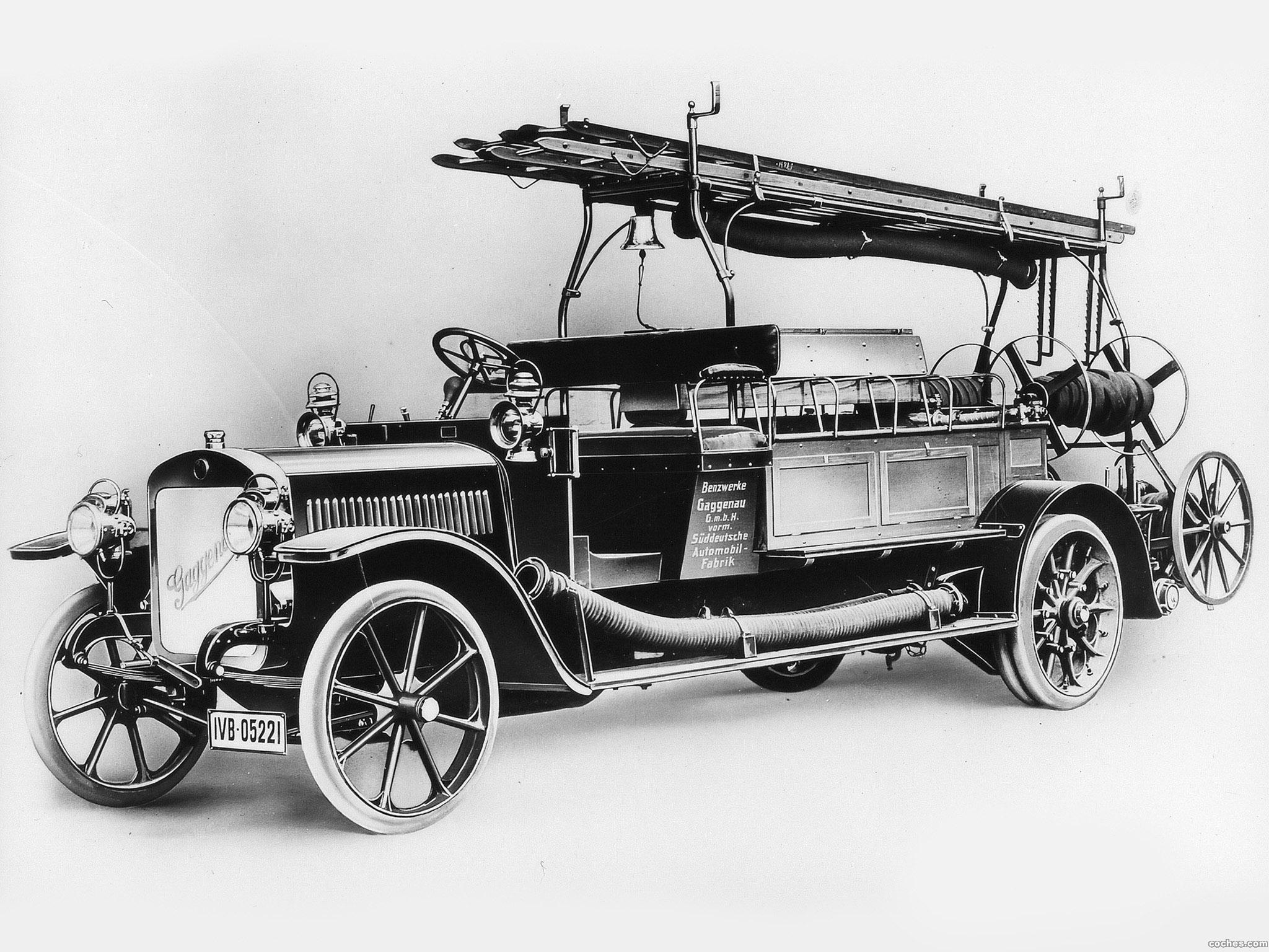Foto 0 de Benz Grunewald Fire Fighting Pump 1906