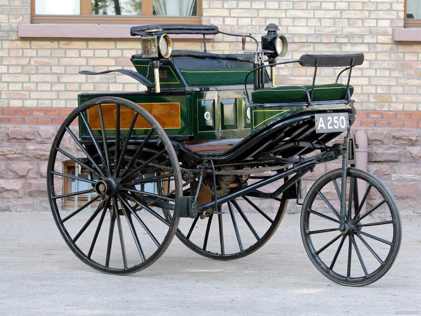Foto 0 de Benz Patent Motorwagen TYP III 1888