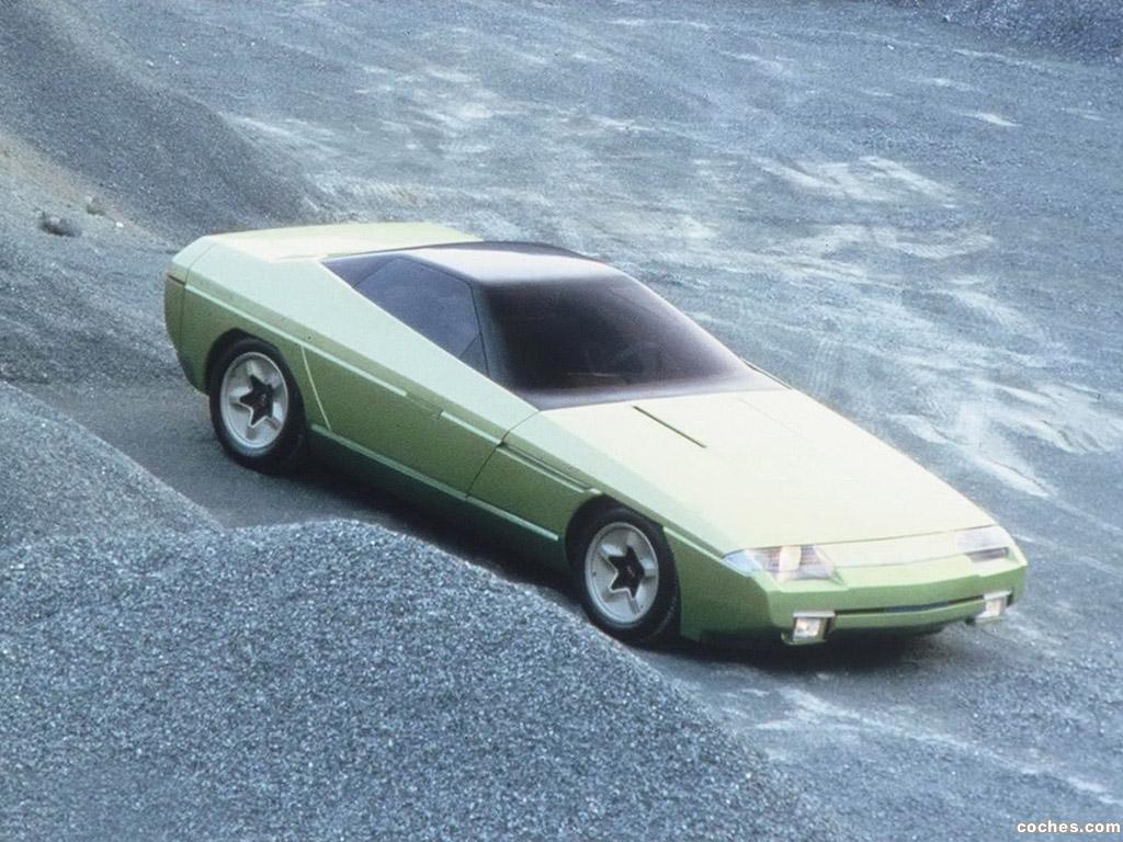 Foto 0 de Bertone Chevrolet Ramarro Concept 1984