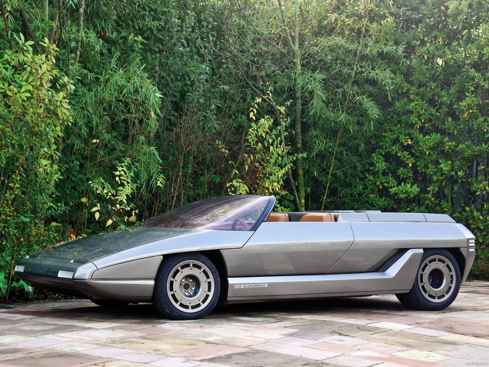 Foto 0 de Lamborghini Athon Speedster Concept por Bertone 1980