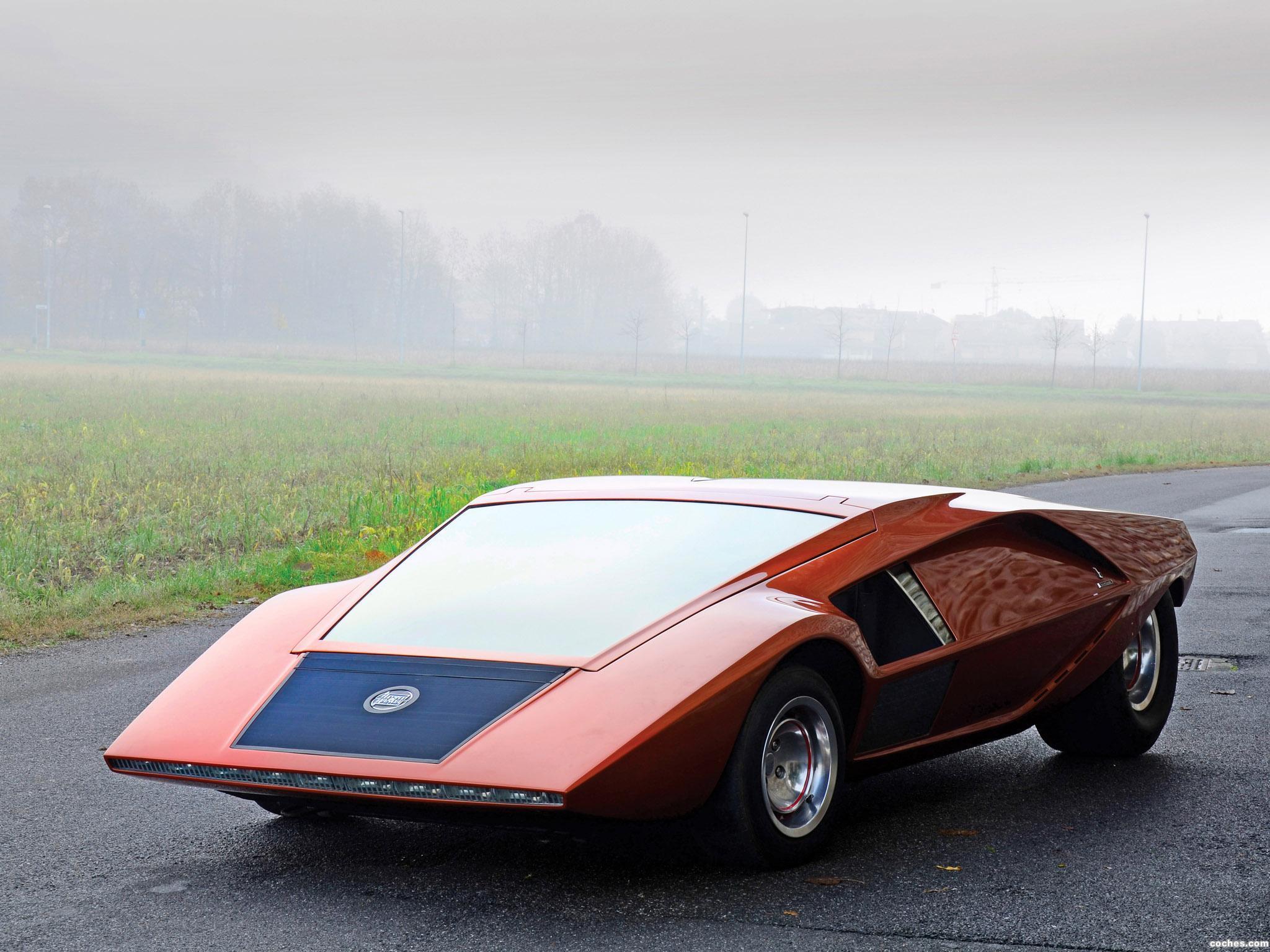 Foto 0 de Bertone Lancia Stratos Zero Concept 1970