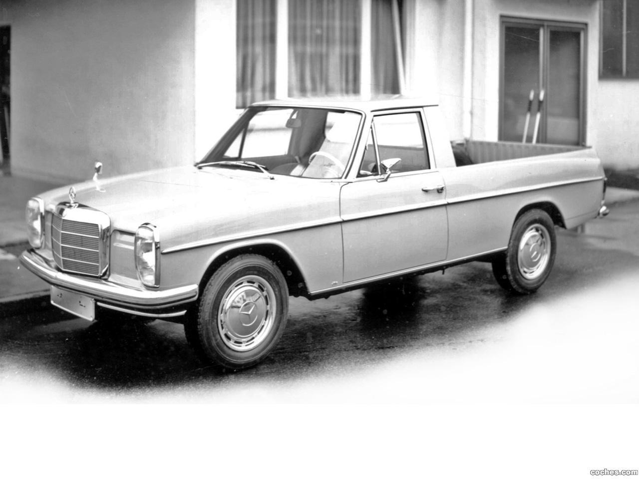 Foto 0 de Mercedes Binz 220 D Pickup W114 1976