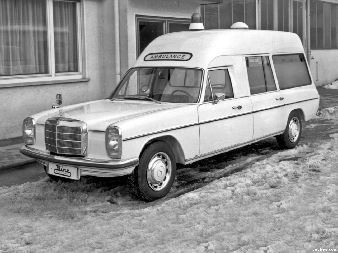 Foto 0 de Mercedes Binz 230 8 Ambulance VF114 1968