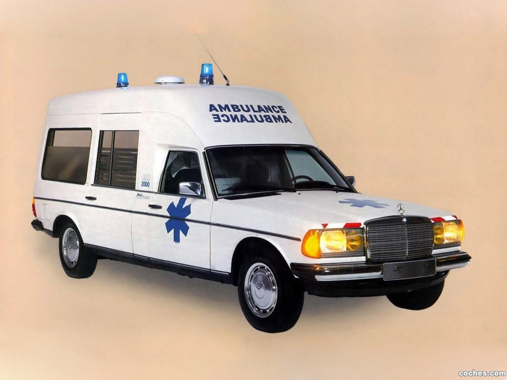 Foto 0 de Mercedes Binz Ambulance F123 1976