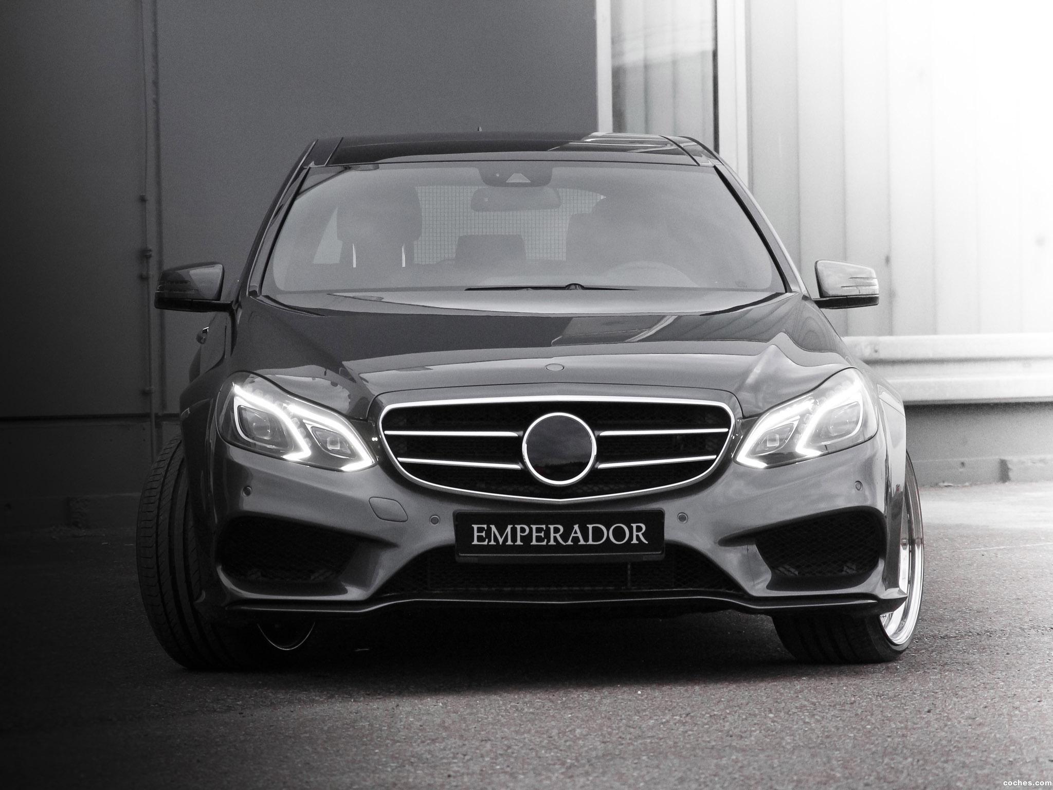 Foto 2 de Binz Mercedes Clase E Emperador S212 2013