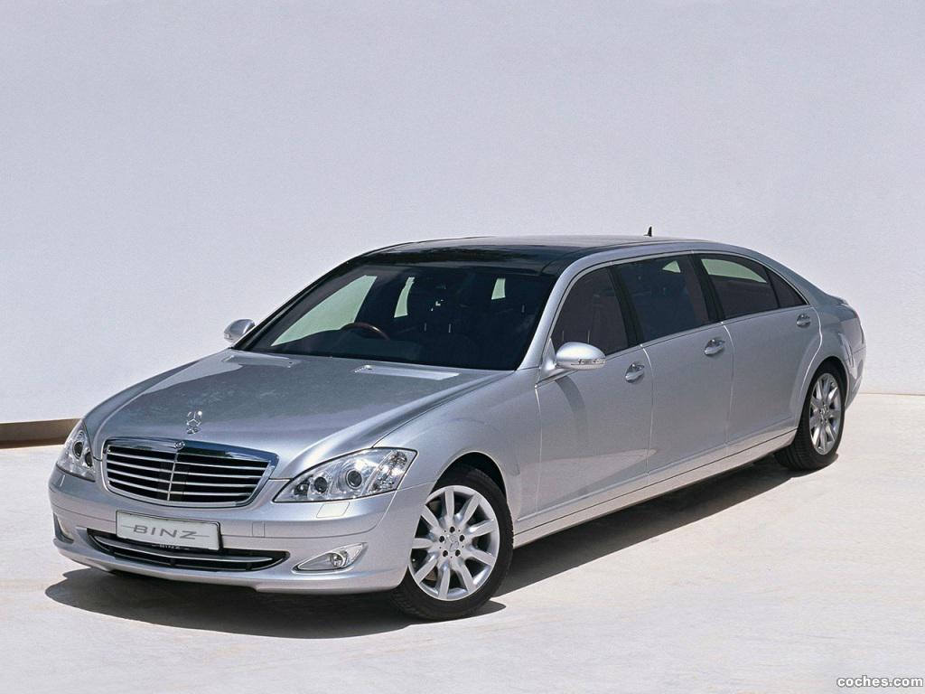 Foto 0 de Binz Mercedes Clase S Luxury Limousne W221 2014