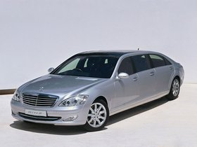 Fotos de Binz Mercedes Clase S Luxury Limousne W221 2014