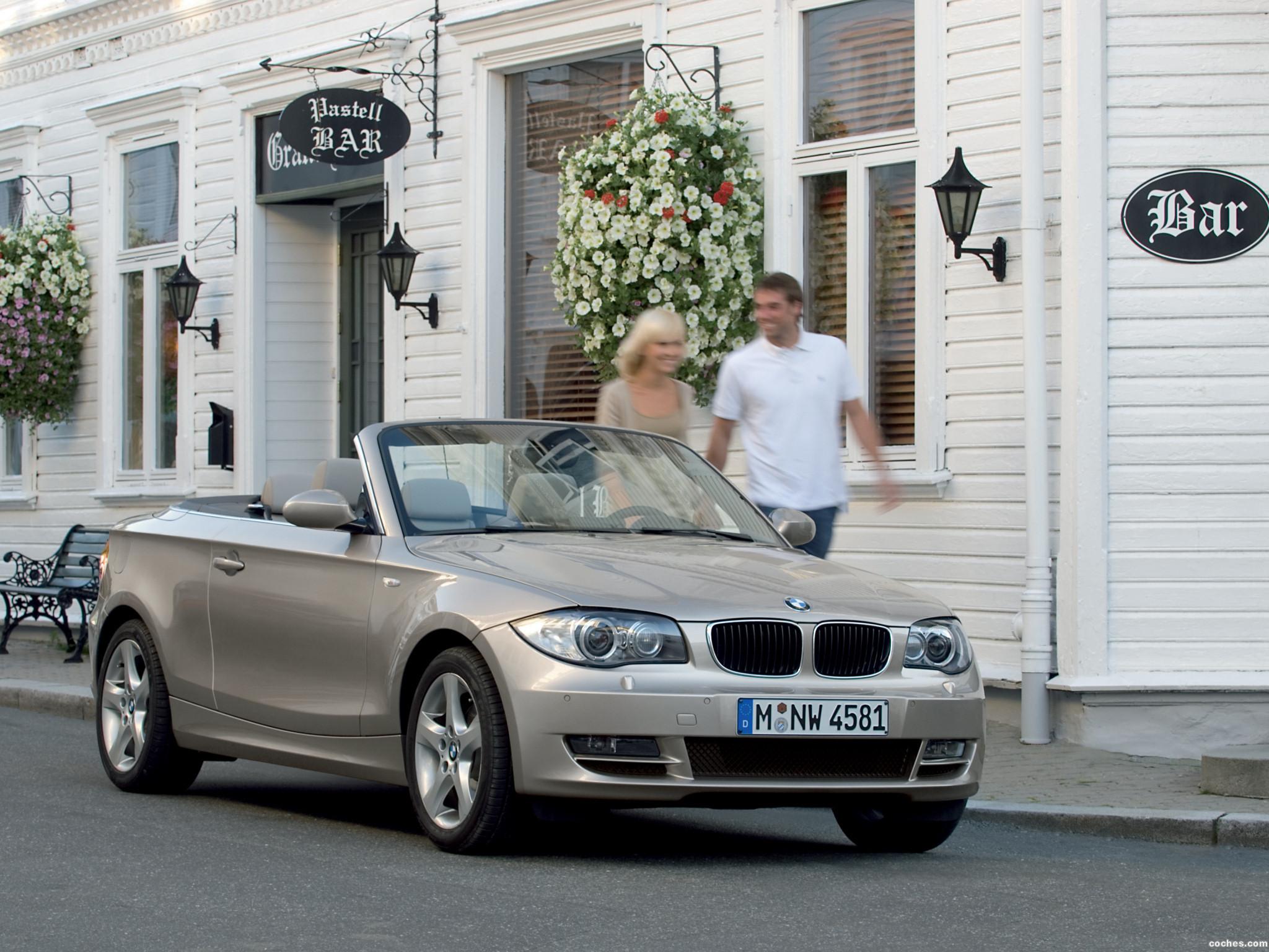 Foto 0 de BMW Serie 1 Cabrio 2007