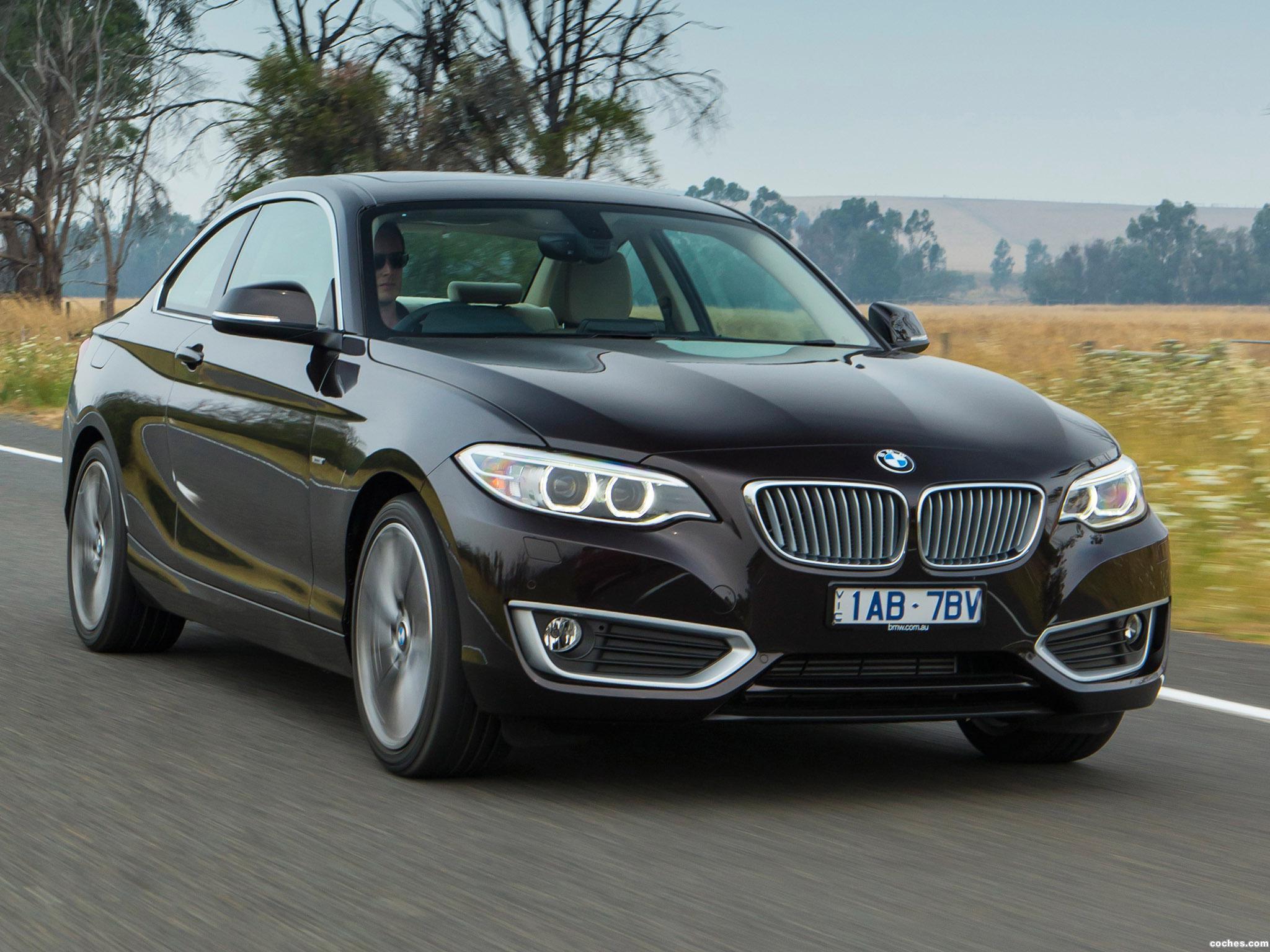 Foto 0 de BMW Serie 2 220d Coupe Modern Line F22 Australia 2014