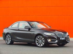 Ver foto 2 de BMW Serie 2 220d Coupe Modern Line F22 Australia 2014