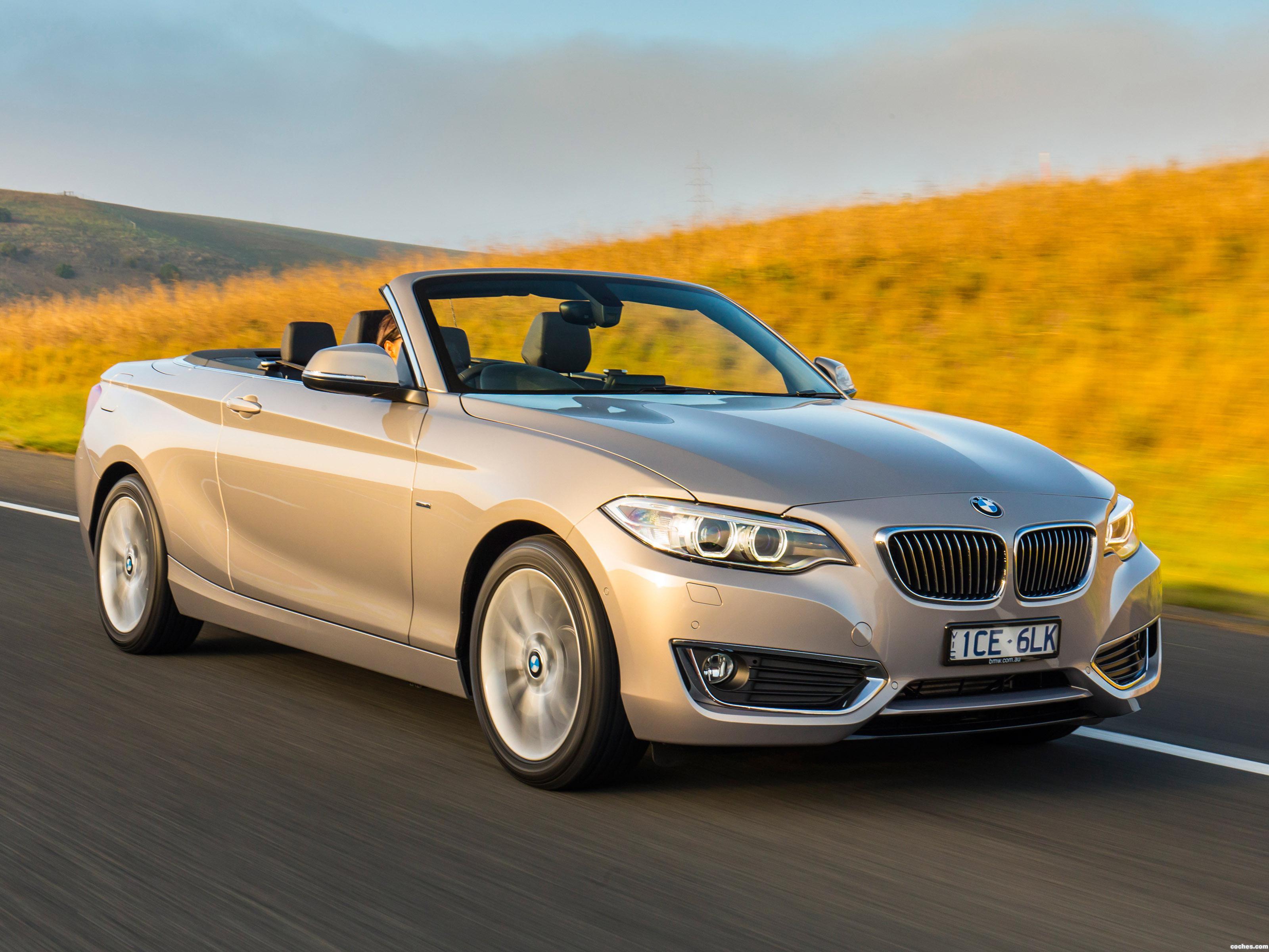Foto 0 de BMW Serie 2 220i Cabrio Luxury Line F23 Australia 2015