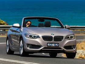 Ver foto 7 de BMW Serie 2 220i Cabrio Luxury Line F23 Australia 2015